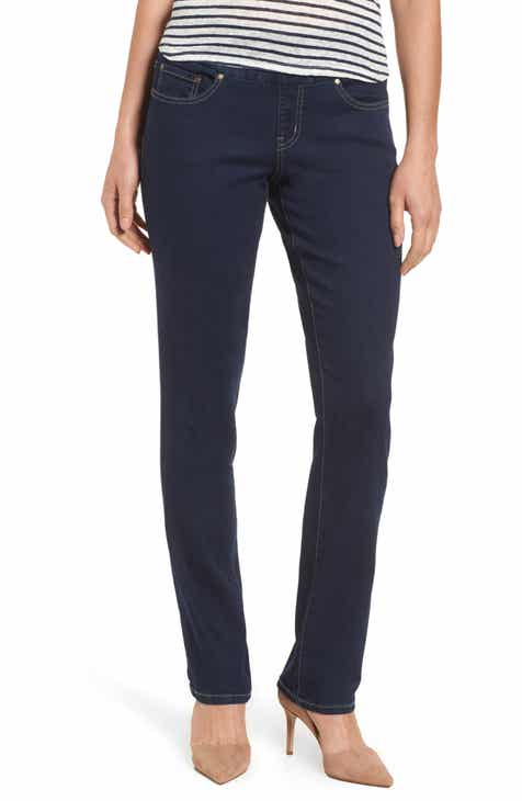 96098a8060e Jag Jeans Peri Pull-On Straight Leg Jeans (Regular   Petite)
