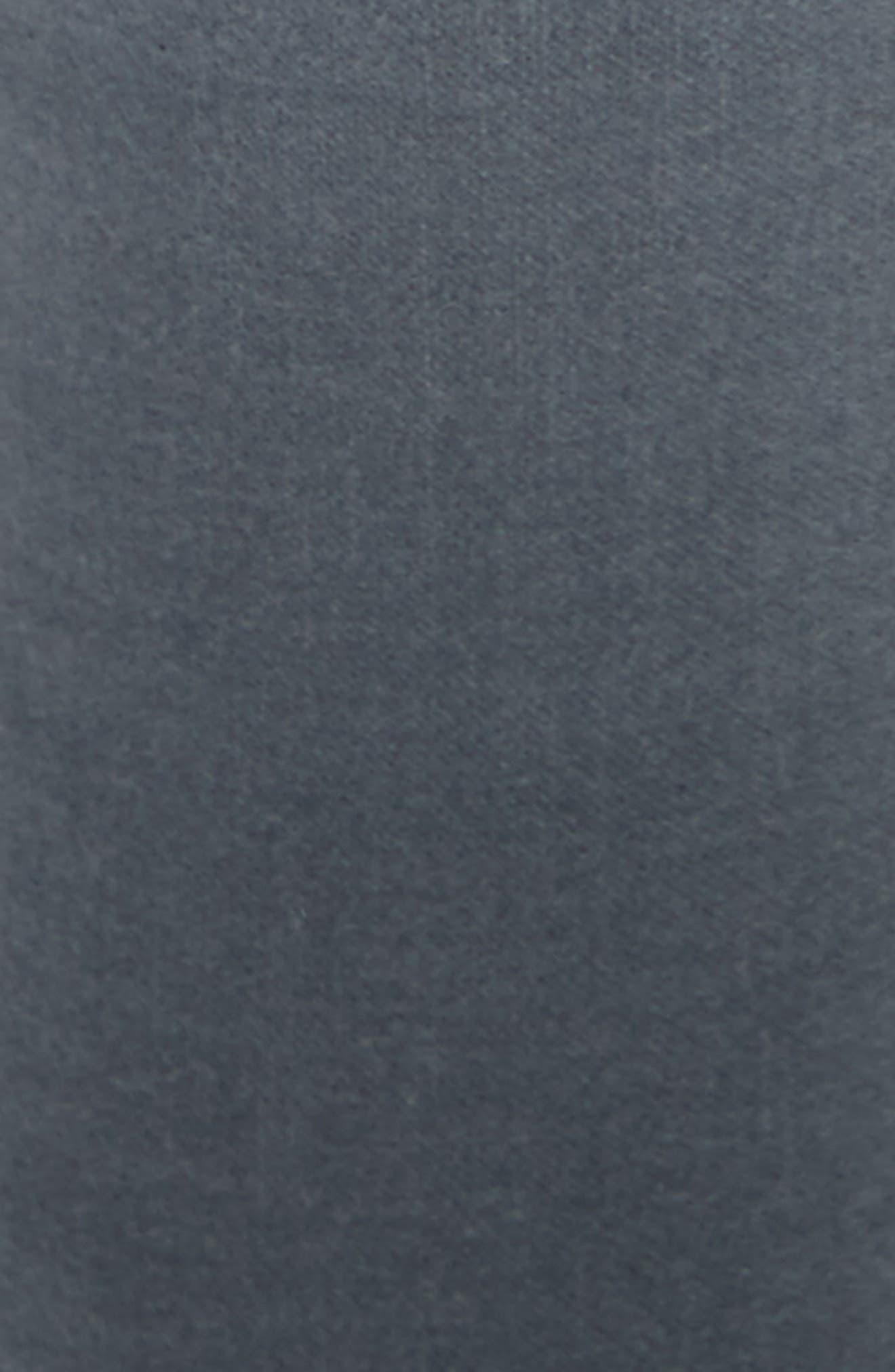 Velvet Skinny Jeans,                             Alternate thumbnail 5, color,                             Steel Blue Velvet