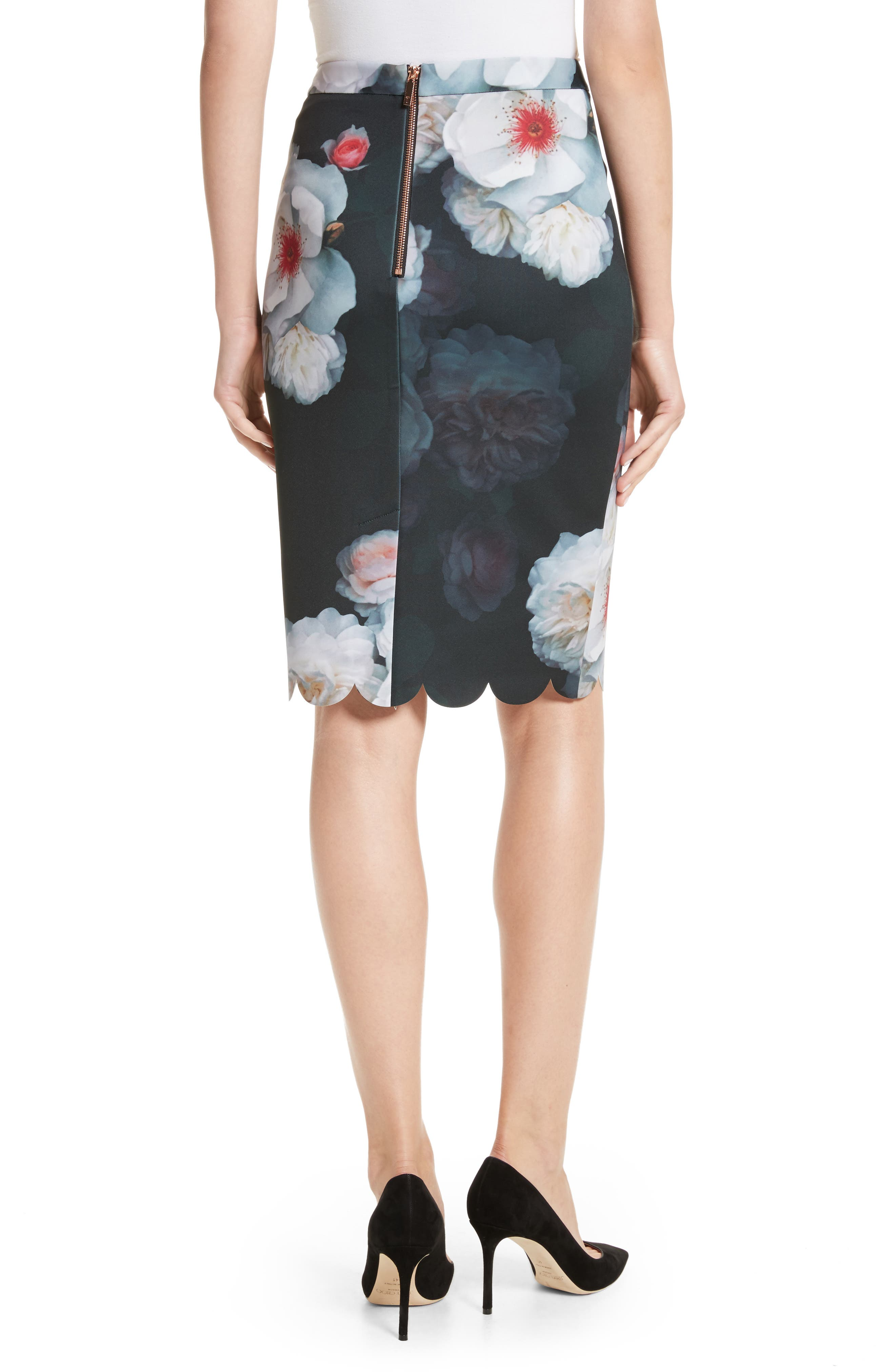 Alternate Image 2  - Ted Baker London Laylie Chelsea Print Pencil Skirt