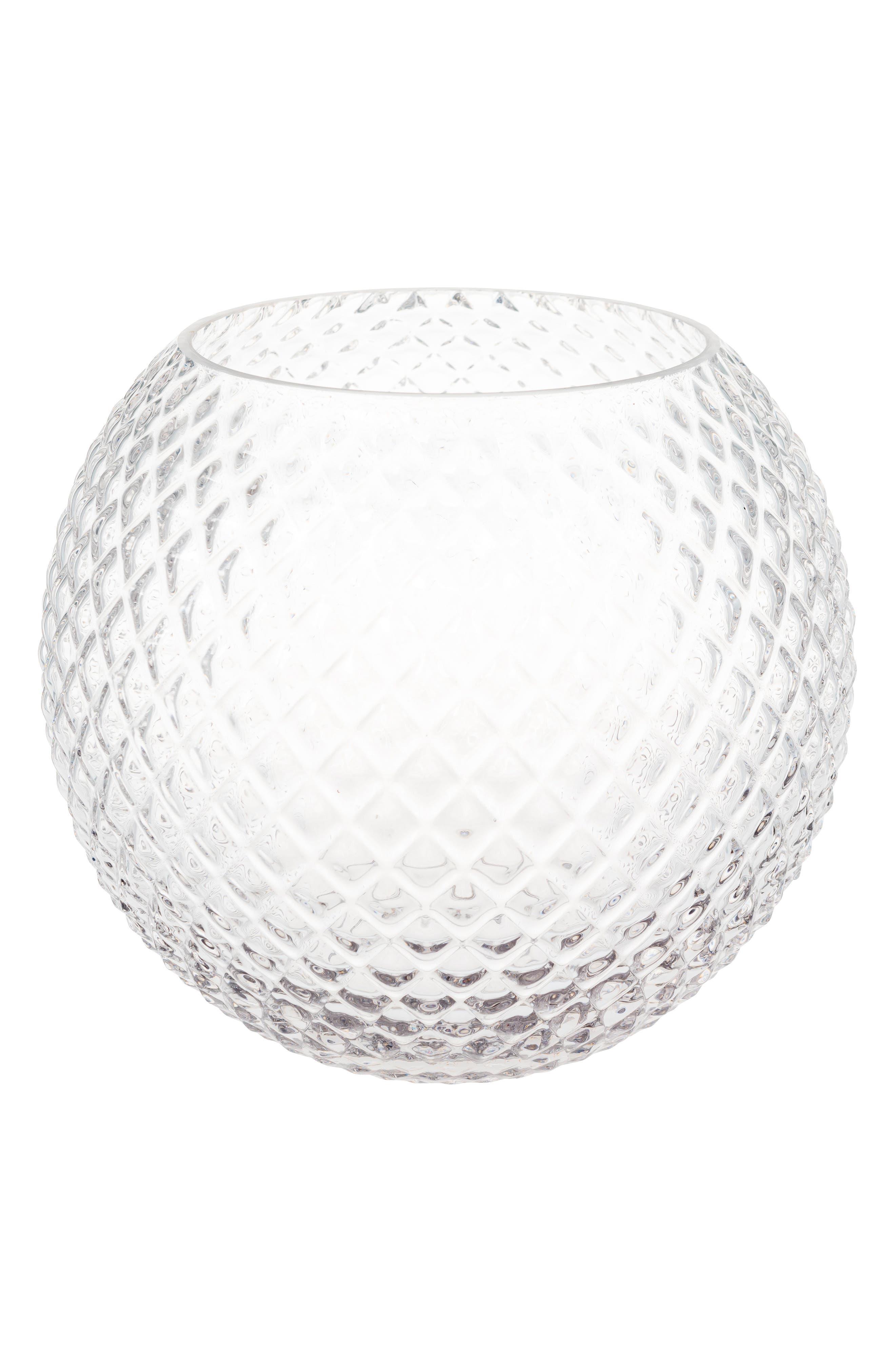 Ilse Glass Vase,                             Main thumbnail 1, color,                             Clear