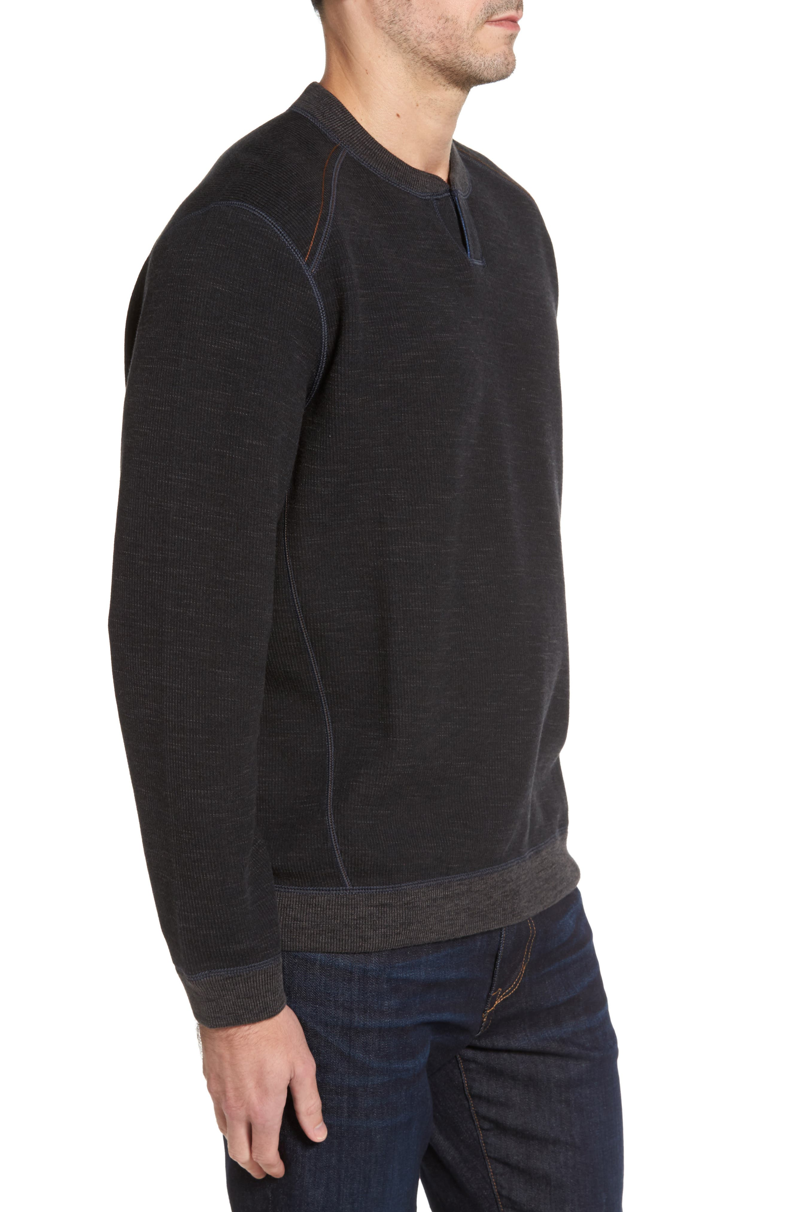 Flipsider Abaco Pullover,                             Alternate thumbnail 2, color,                             Black