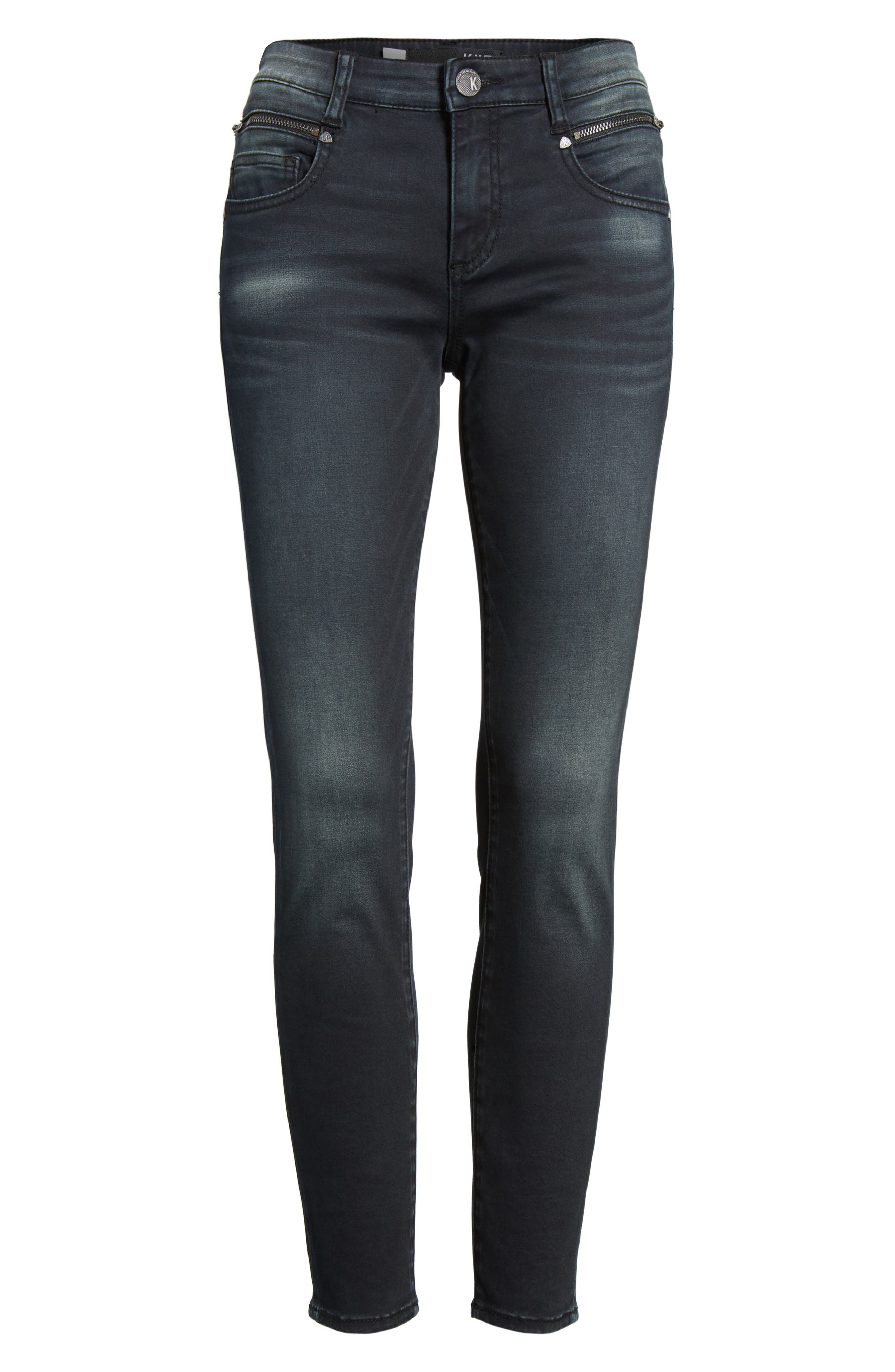 Alternate Image 6  - KUT from the Kloth Reese Skinny Ankle Jeans (Proven)