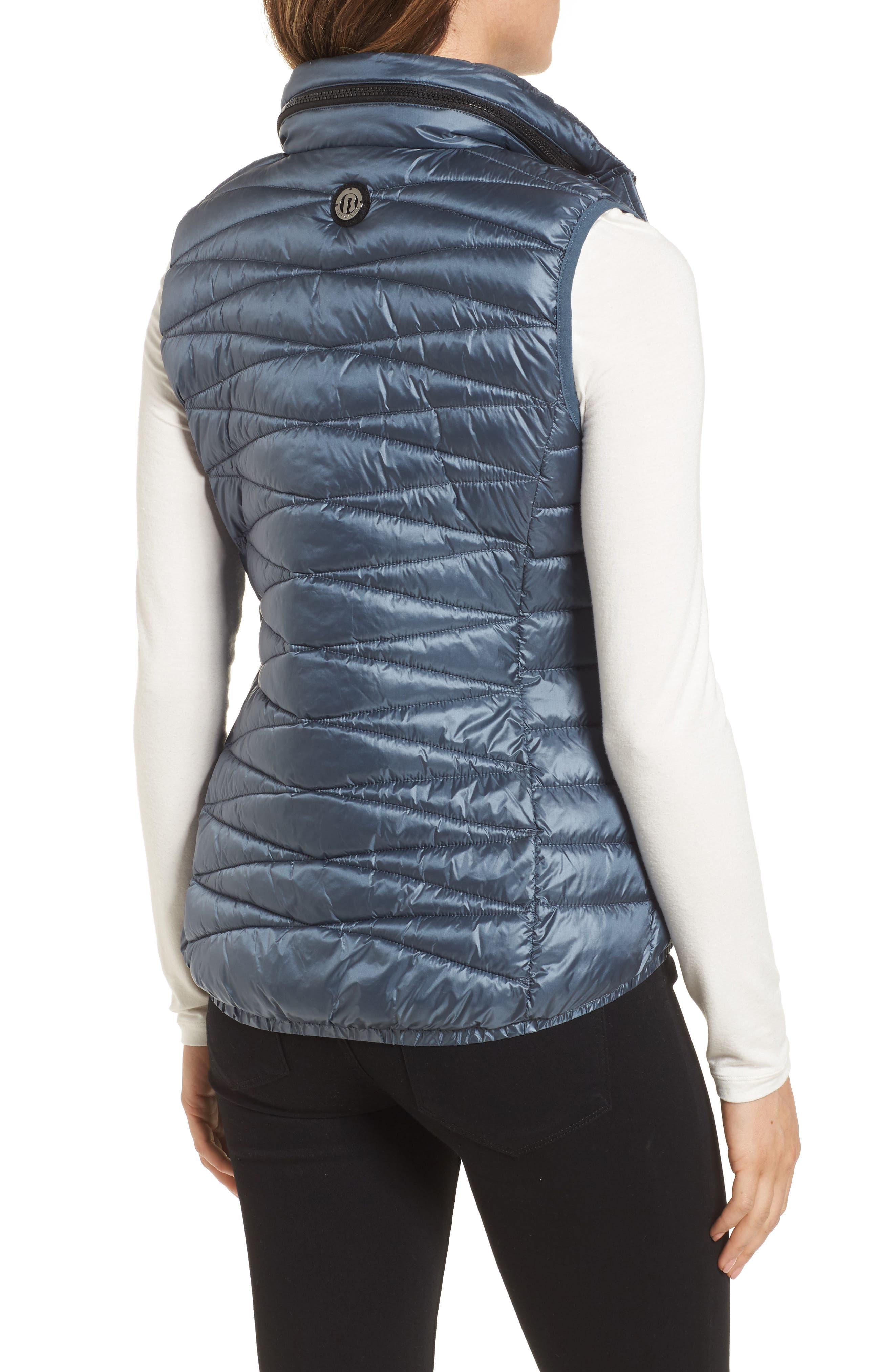 Packable Vest,                             Alternate thumbnail 2, color,                             Ice Cove Indigo