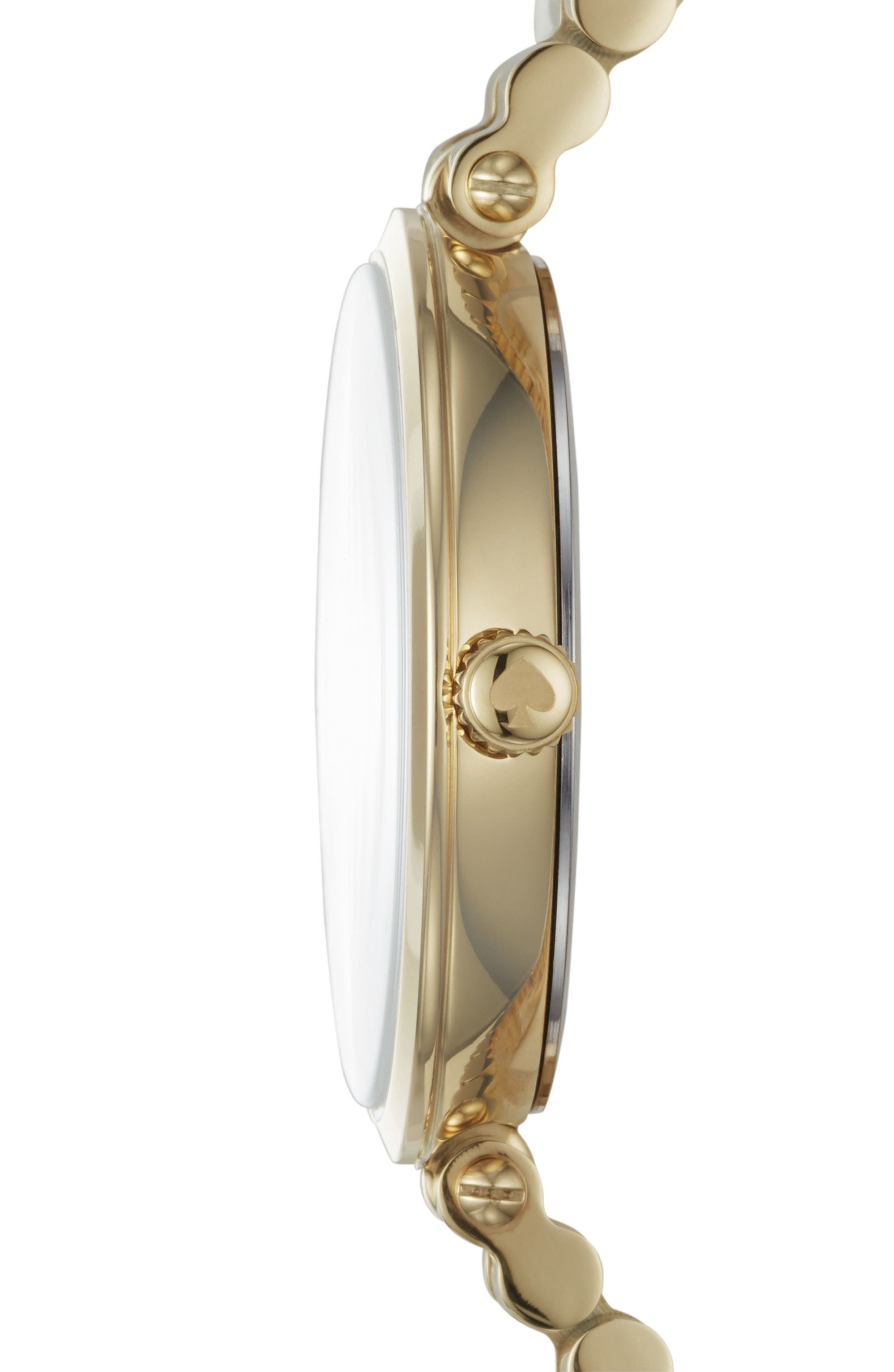 holland mrs. bracelet watch, 34mm,                             Alternate thumbnail 2, color,                             Gold/ Mop/ Gold