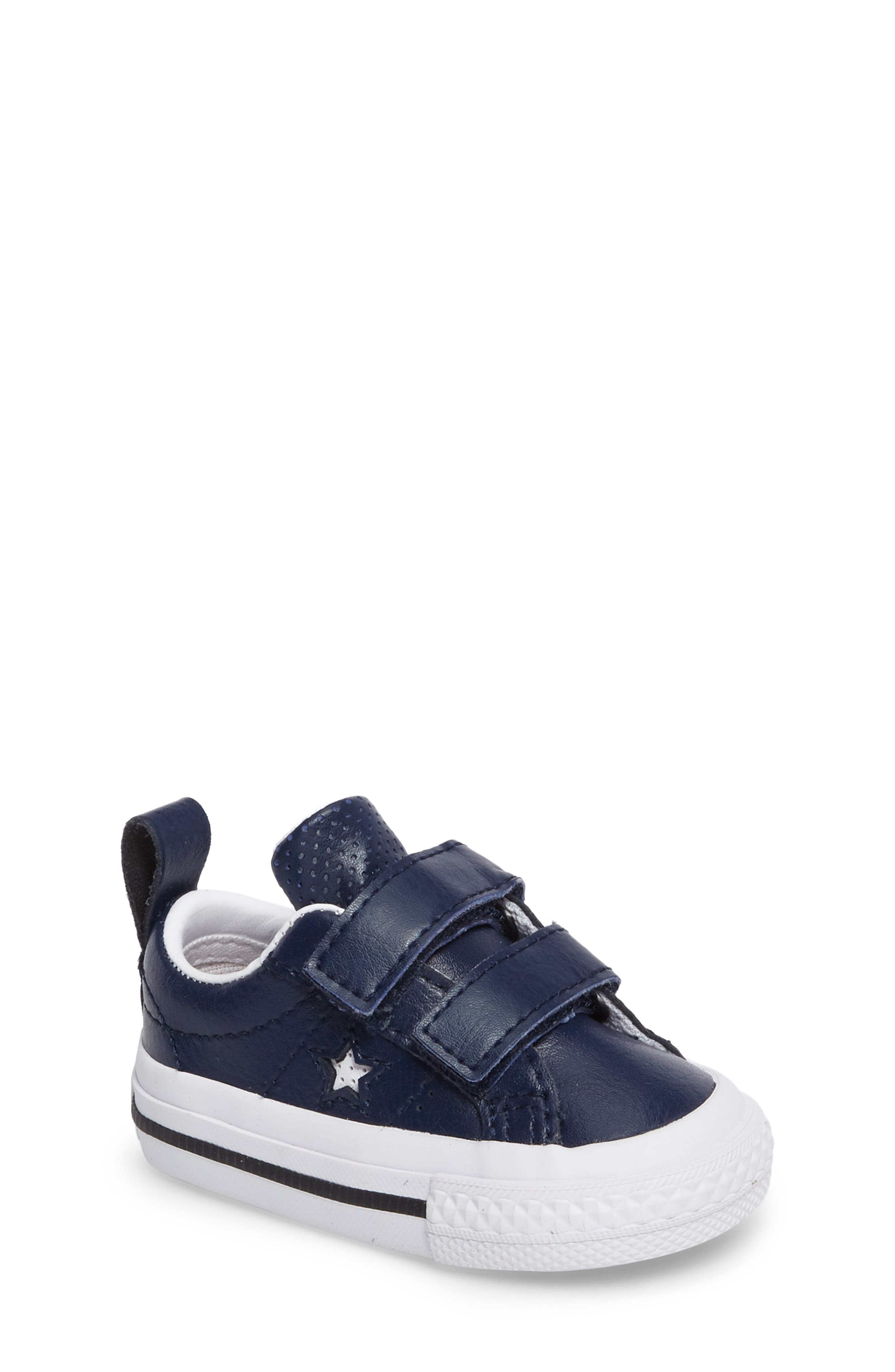 Alternate Image 1 Selected - Converse Chuck Taylor® All Star® One Star Sneaker (Baby, Walker & Toddler)