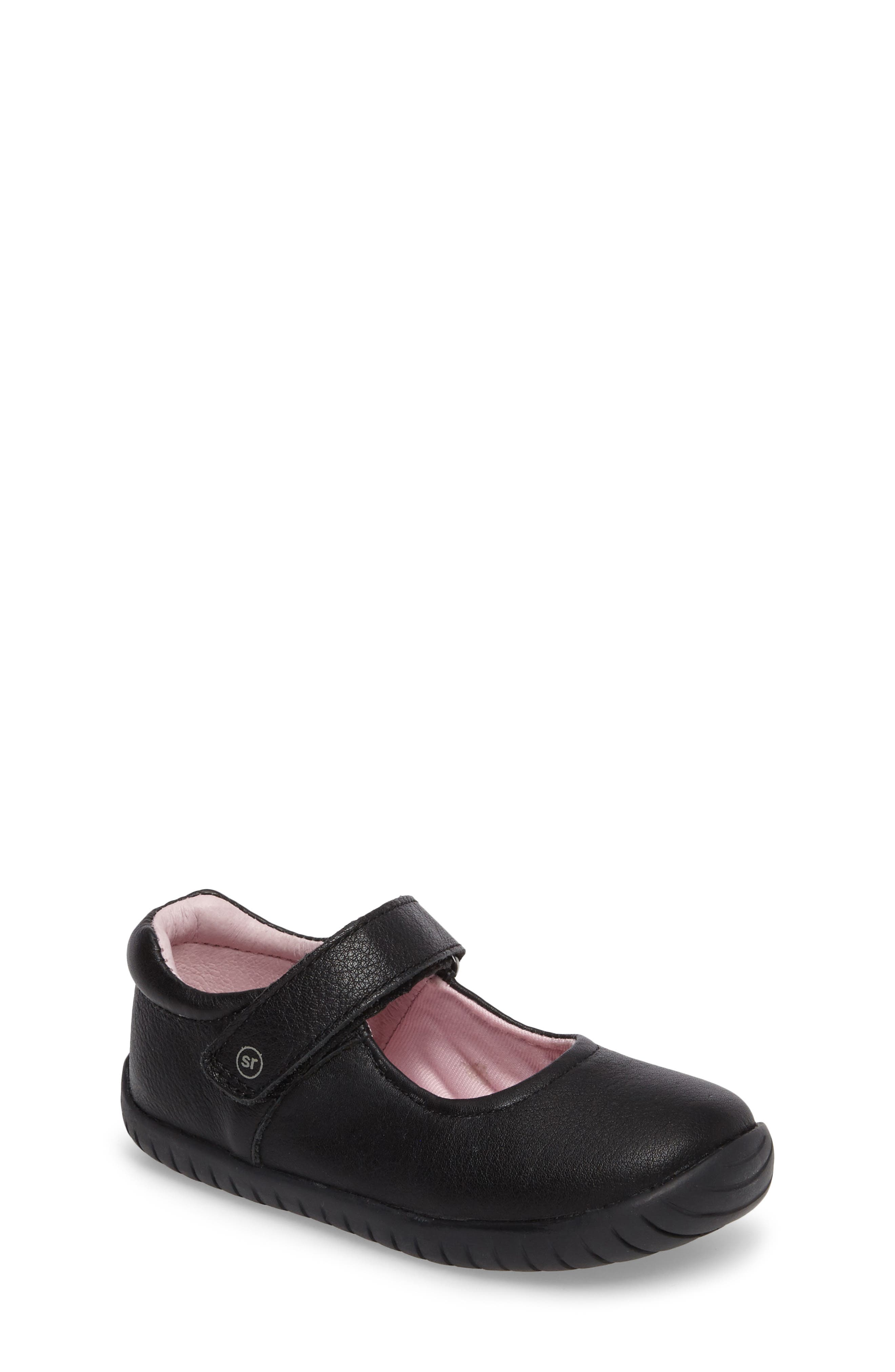Stride Rite Maya Mary Jane Flat (Baby, Walker & Toddler)