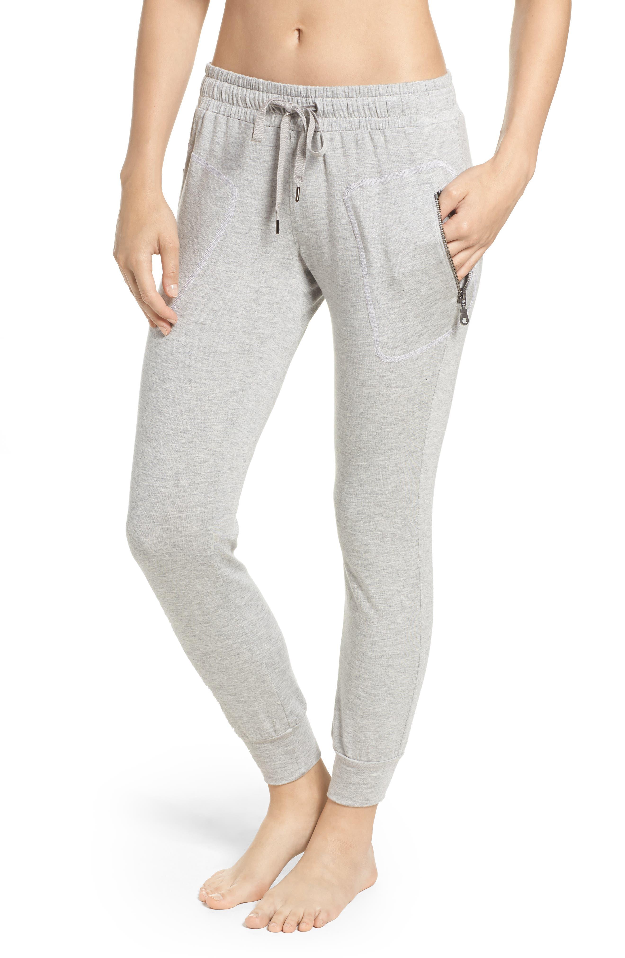 DAVID LERNER The New Penn Sweatpants in Grey