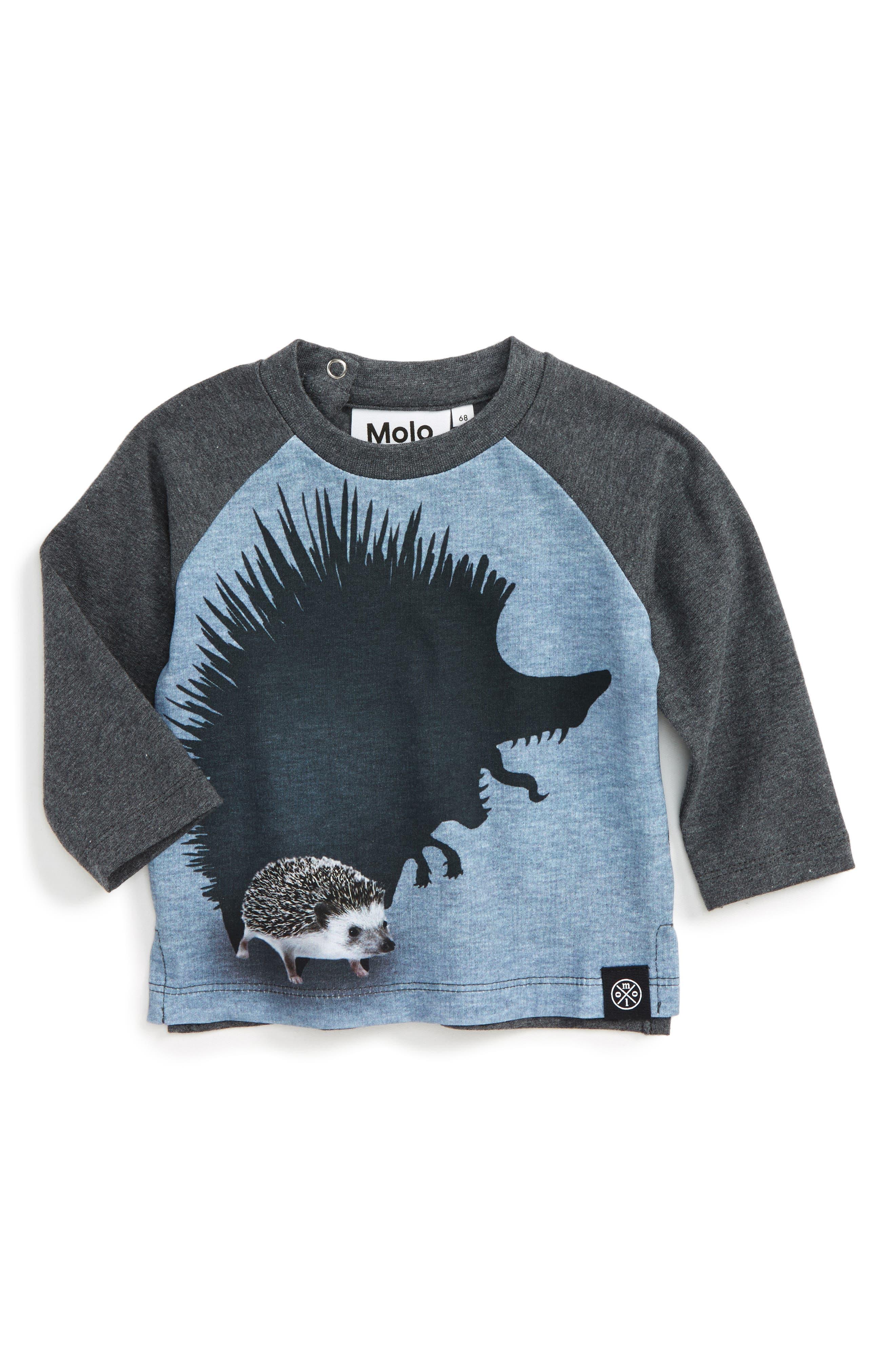 Evan Graphic T-Shirt,                         Main,                         color, Beast Shadow