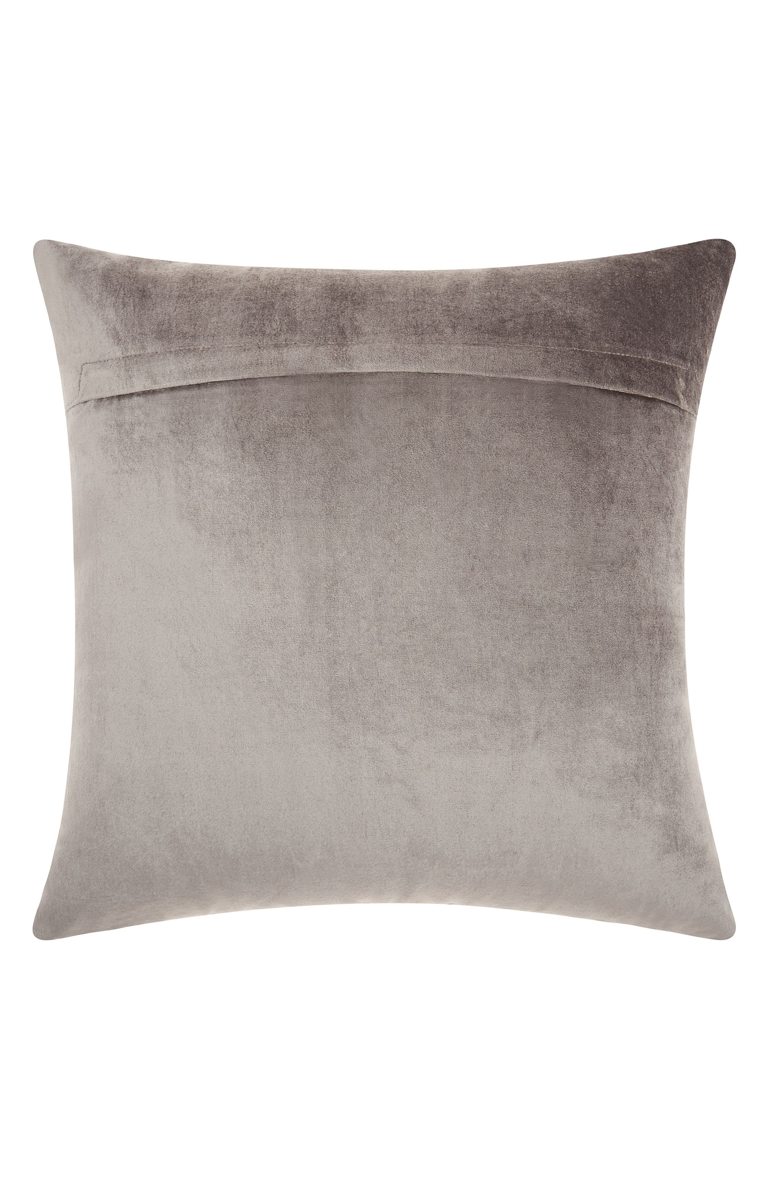 Alternate Image 2  - Mina Victory Distressed Velvet Accent Pillow