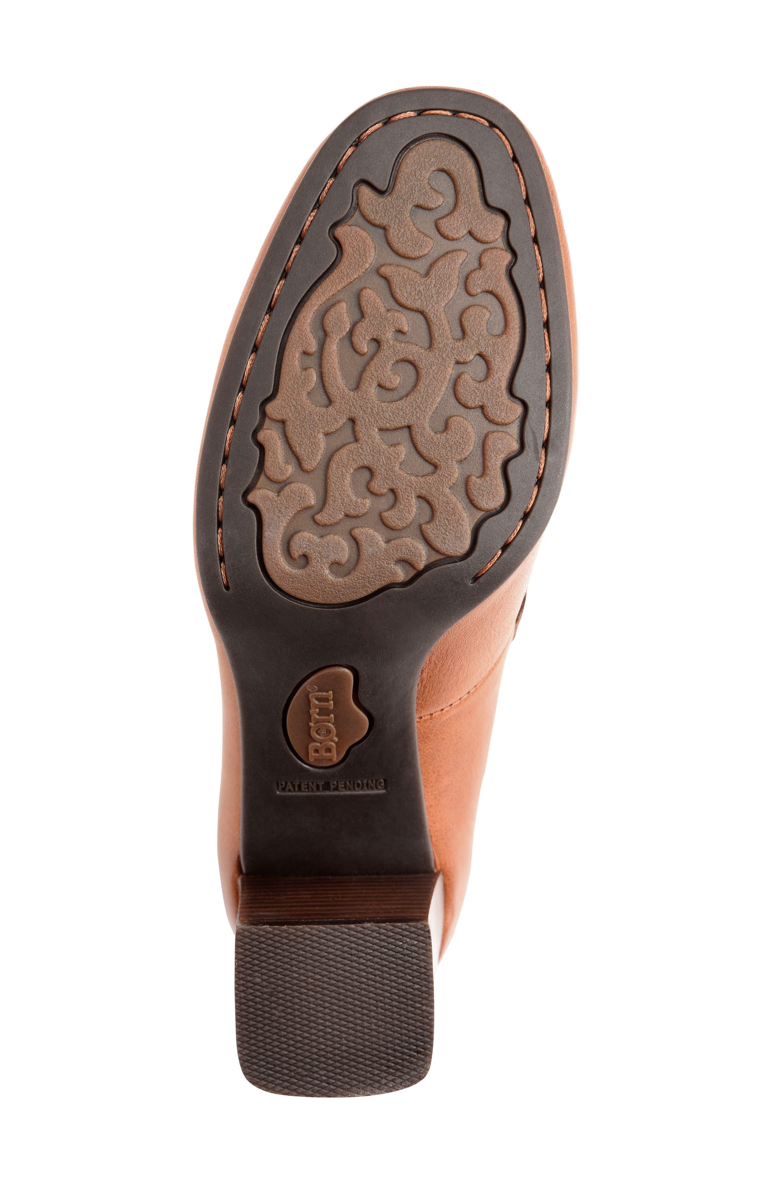 Mocho Pump,                             Alternate thumbnail 6, color,                             Tan Leather