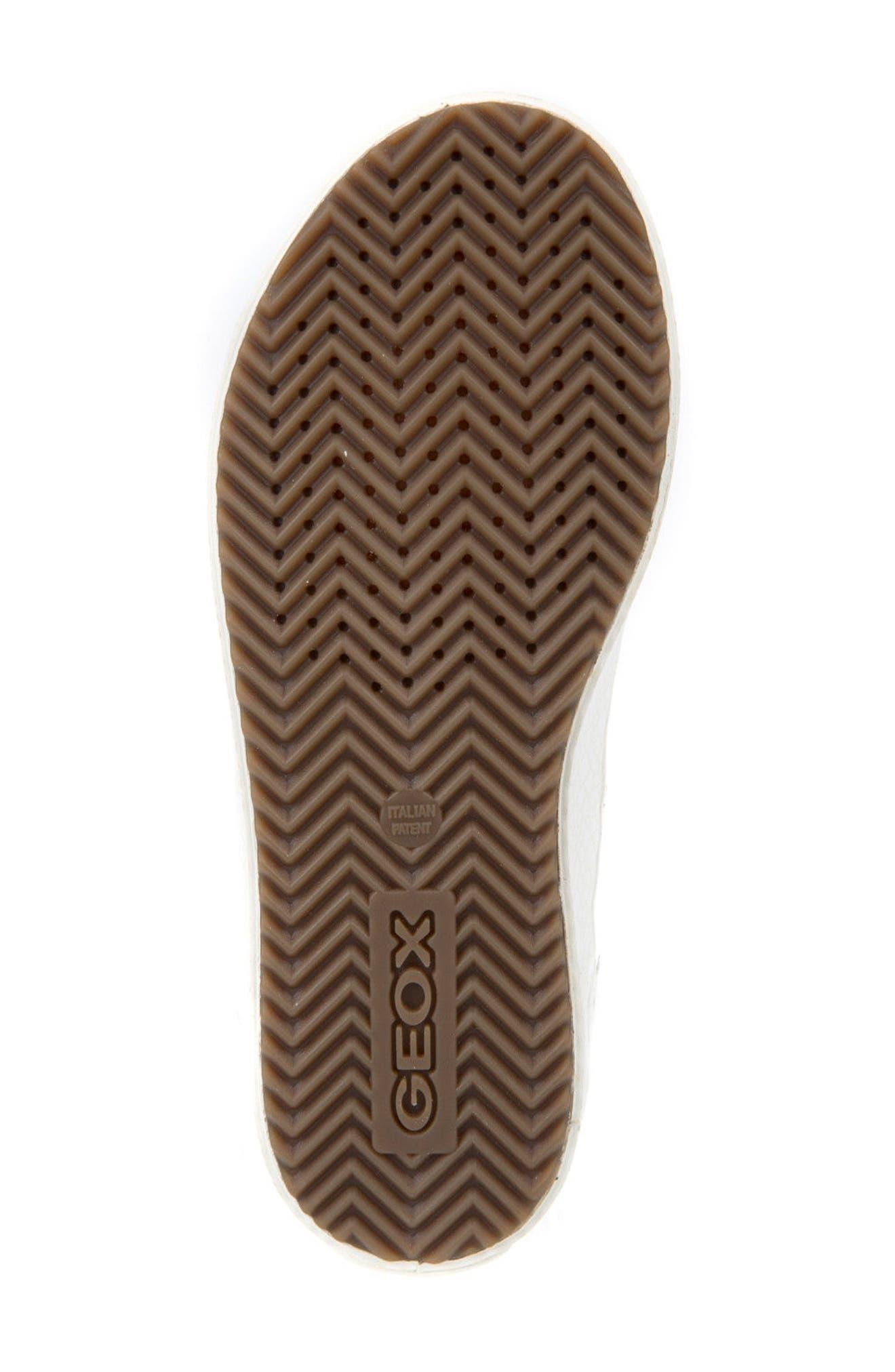 Alternate Image 7  - Geox Kalispera Girl Embellished High Top Sneaker (Toddler, Little Kid & Big Kid)