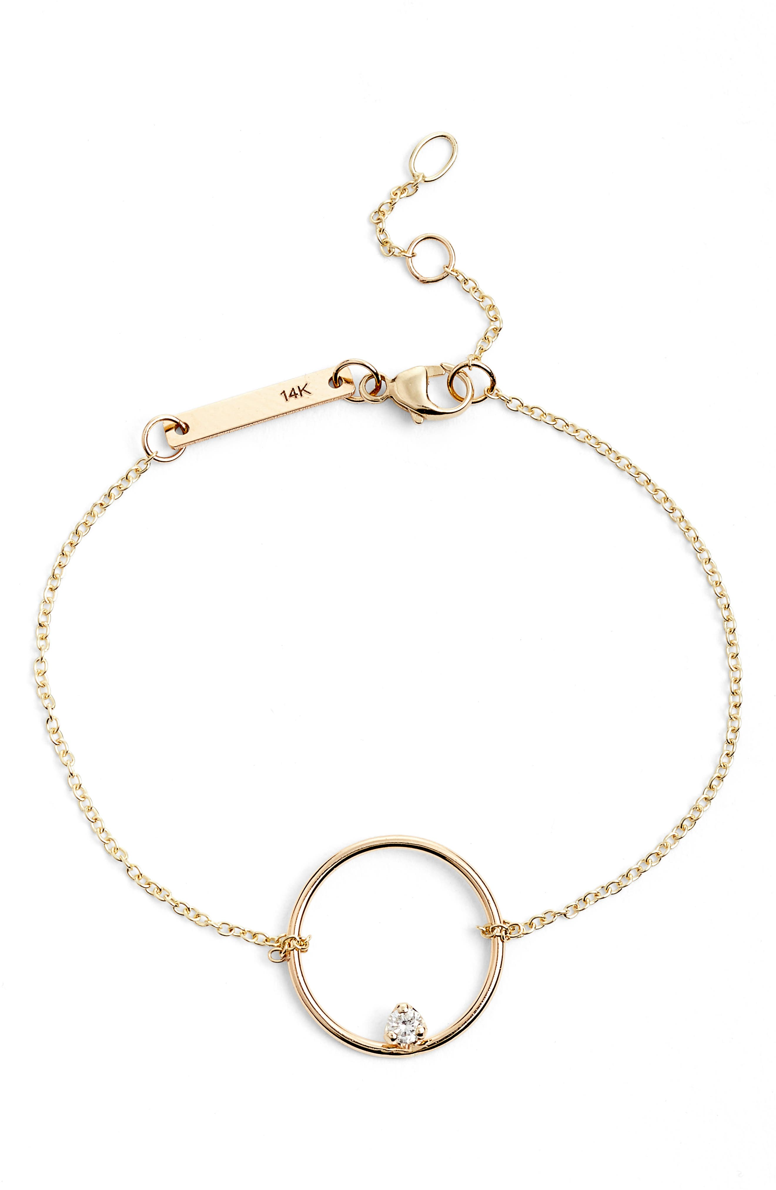 ZOË CHICCO Circle Station Bracelet