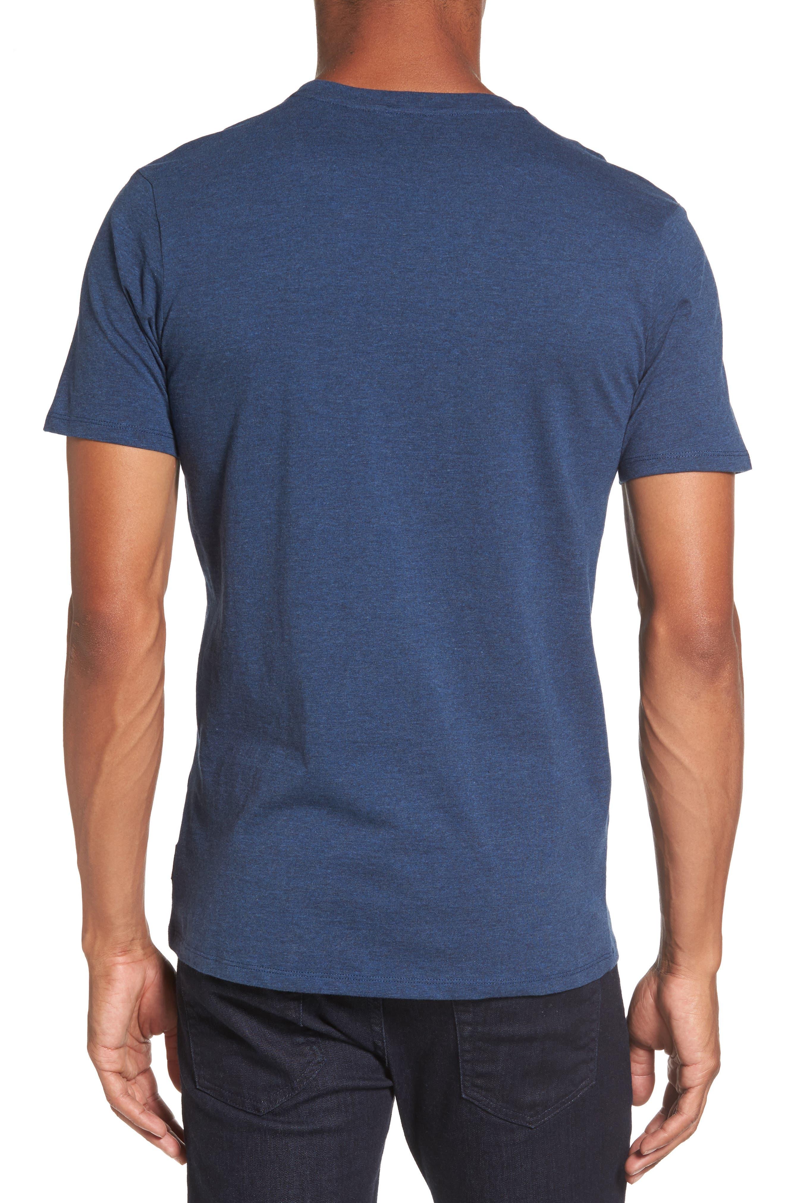 Optical Target T-Shirt,                             Alternate thumbnail 2, color,                             Blue