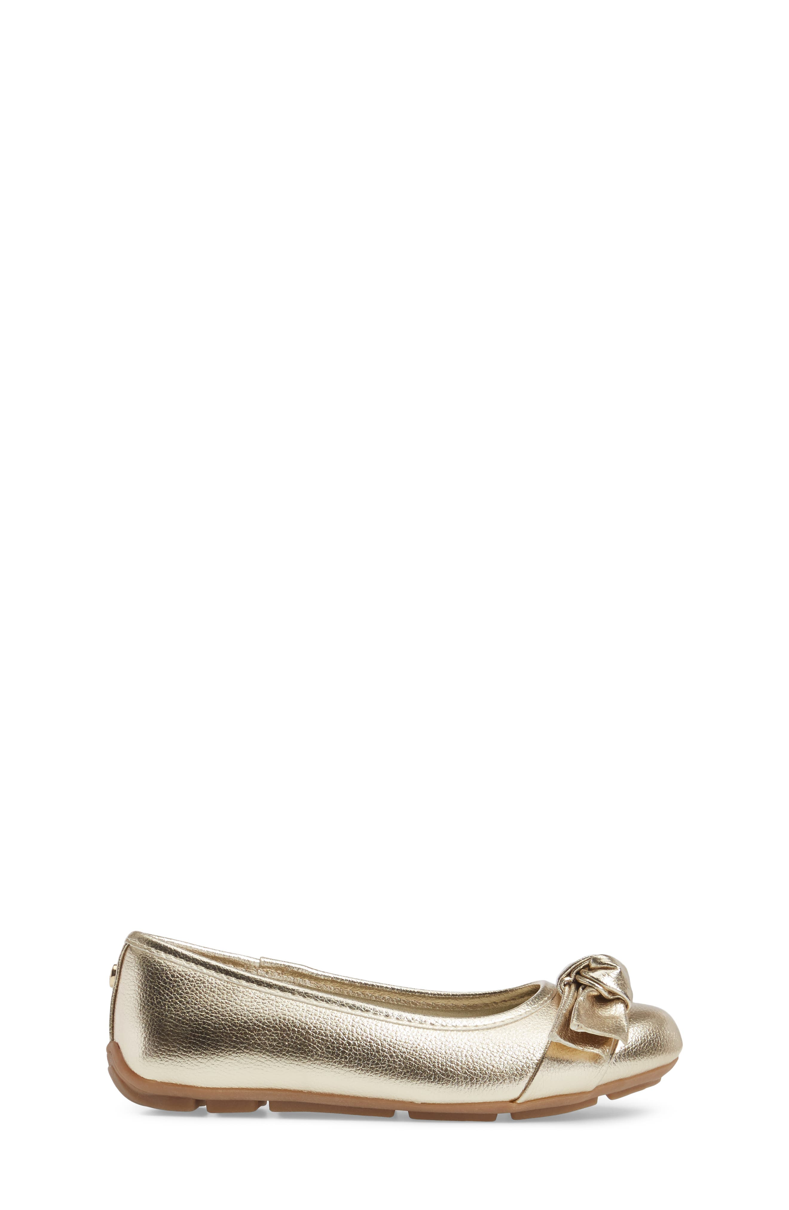 Rover Cora Ballet Flat,                             Alternate thumbnail 3, color,                             Gold