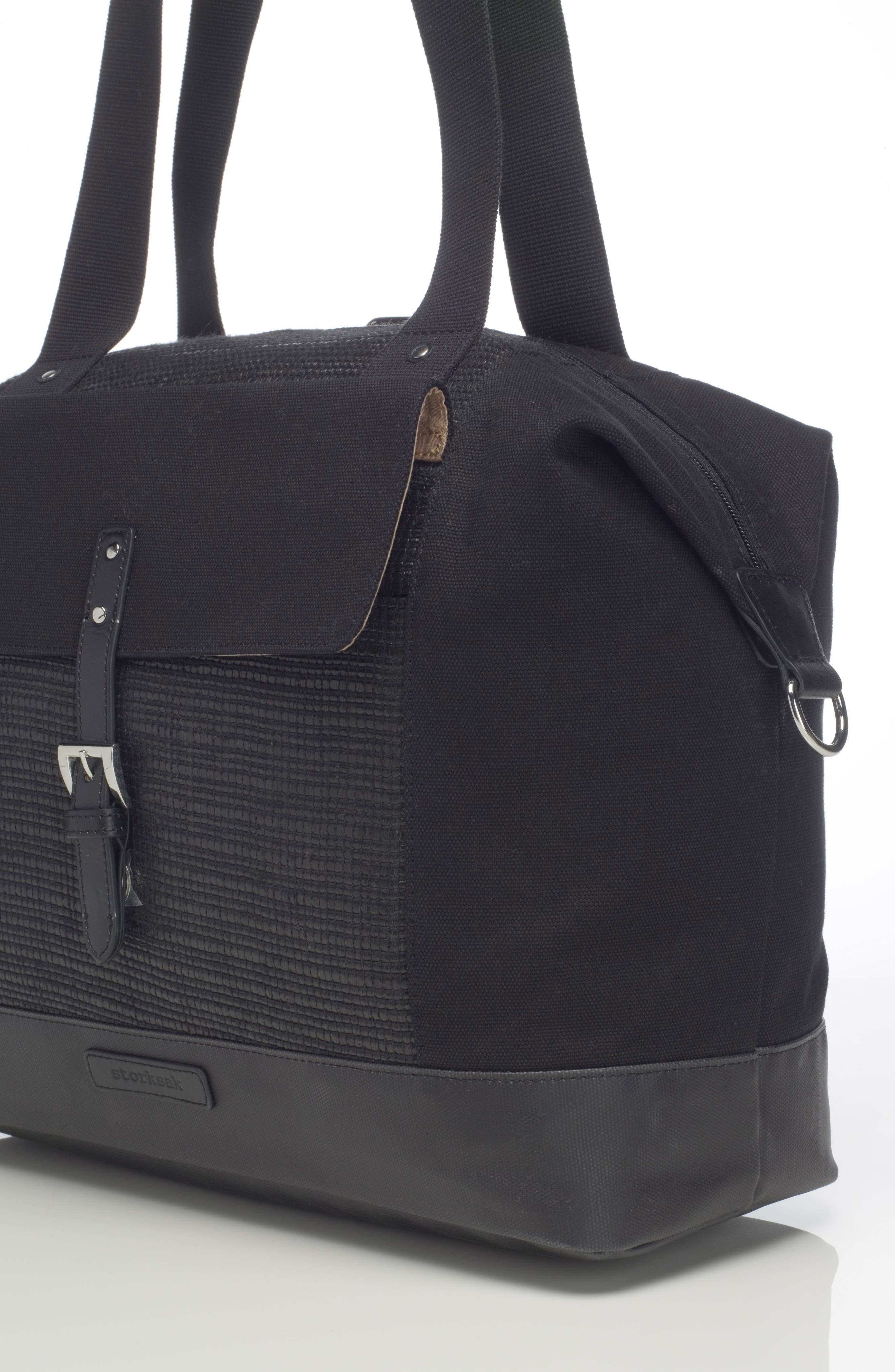Alternate Image 11  - Storksak Jude Convertible Diaper Bag