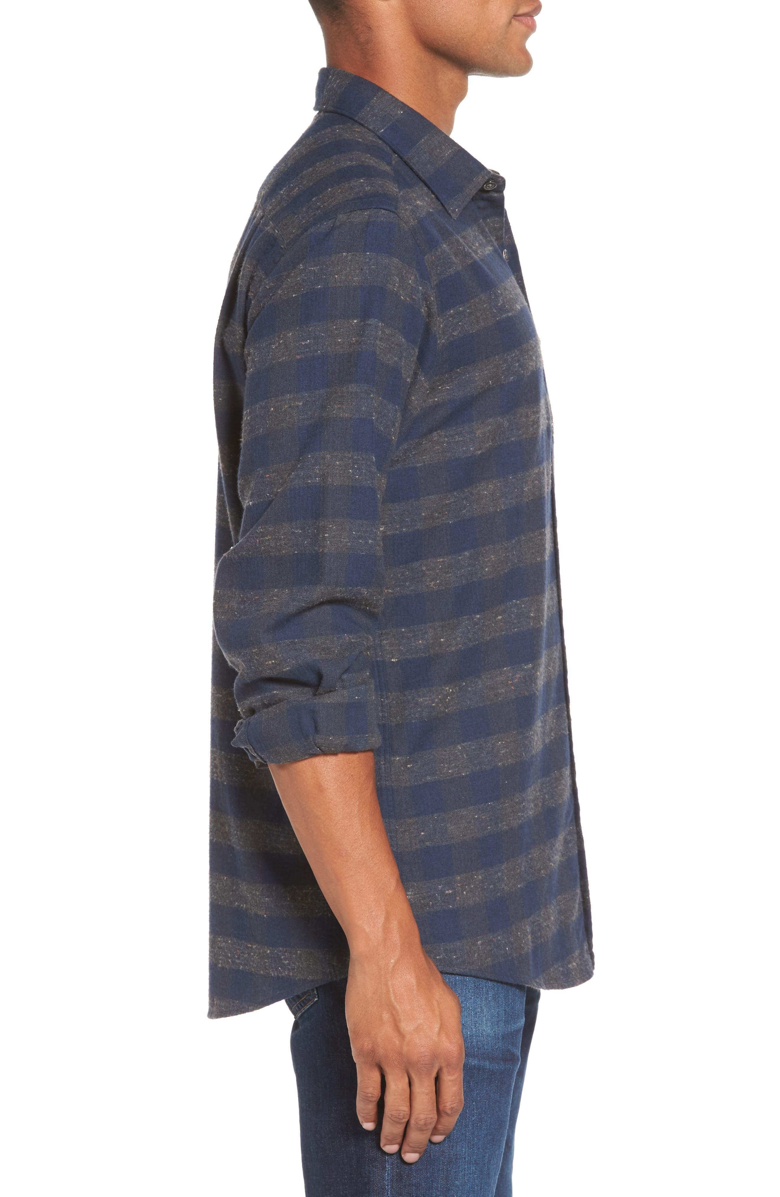 Alternate Image 3  - Rodd & Gunn Santa Rosa Sports Fit Check Sport Shirt