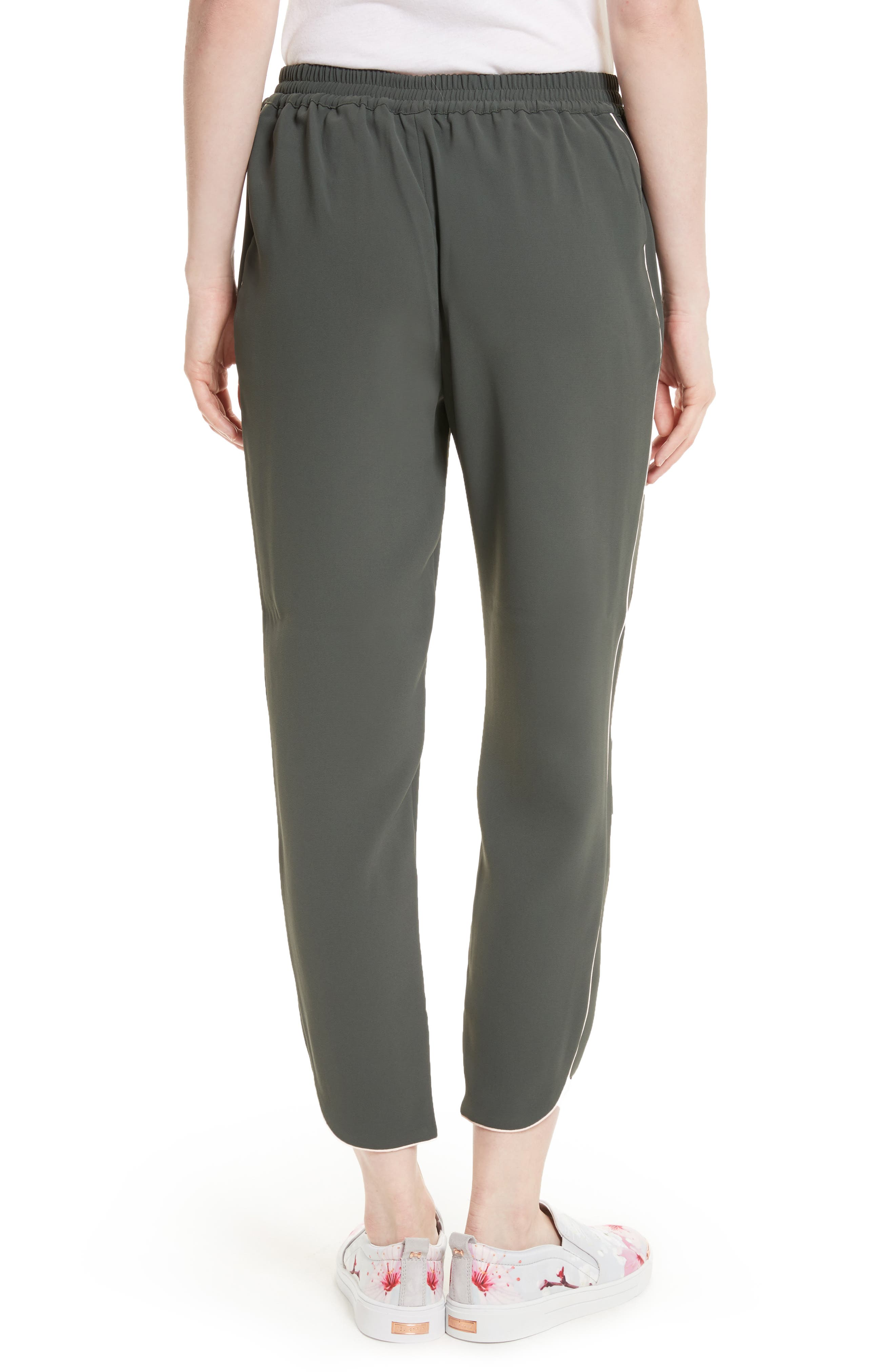 Alternate Image 2  - Ted Baker London Quenbie Piped Jogger Pants