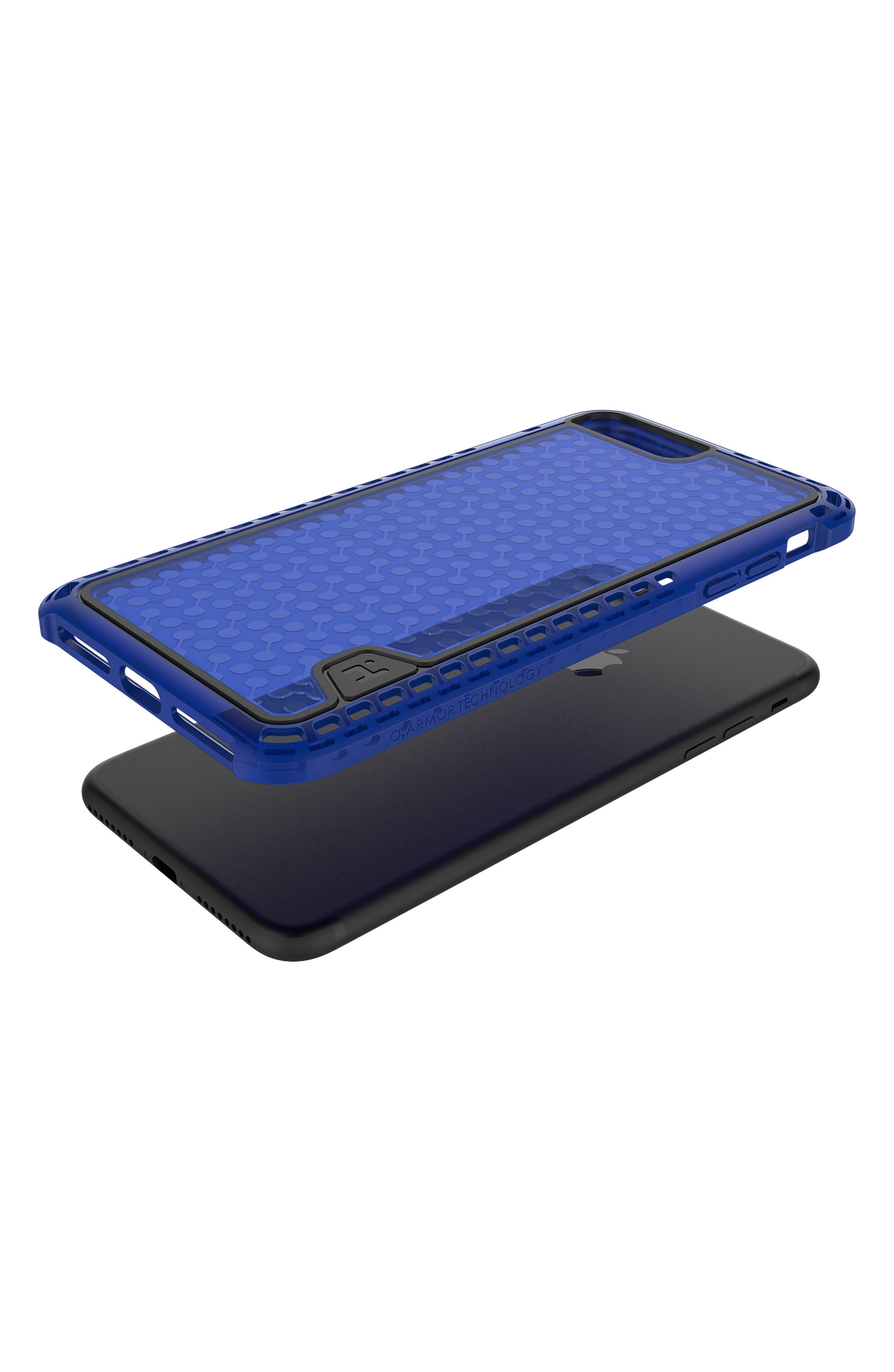 O2Armour iPhone 7/8 Case,                         Main,                         color, Blue