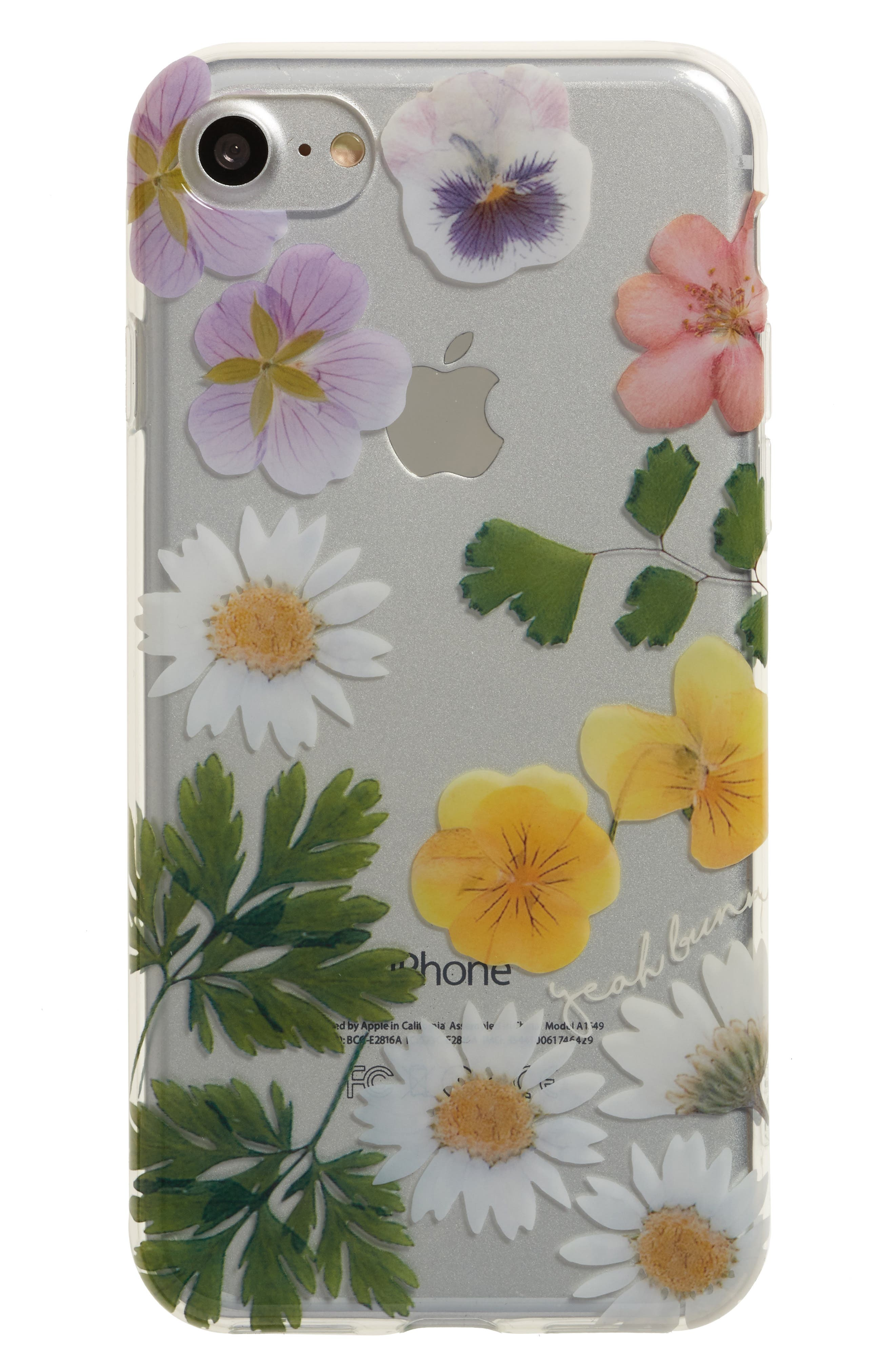 YEAH BUNNY Dry Flowers iPhone 7 Case