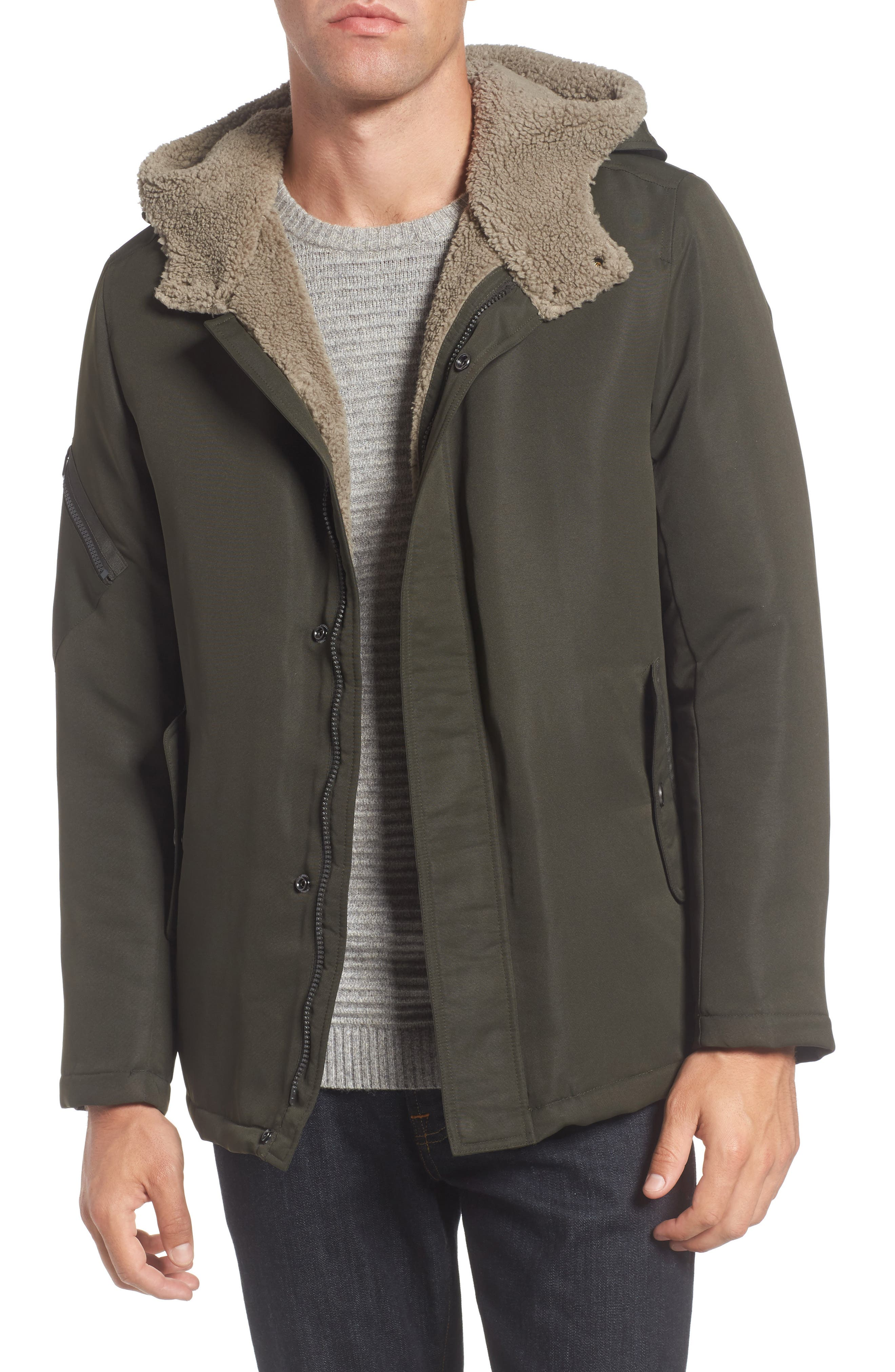 Main Image - Reaction Kenneth Cole Hooded Jacket