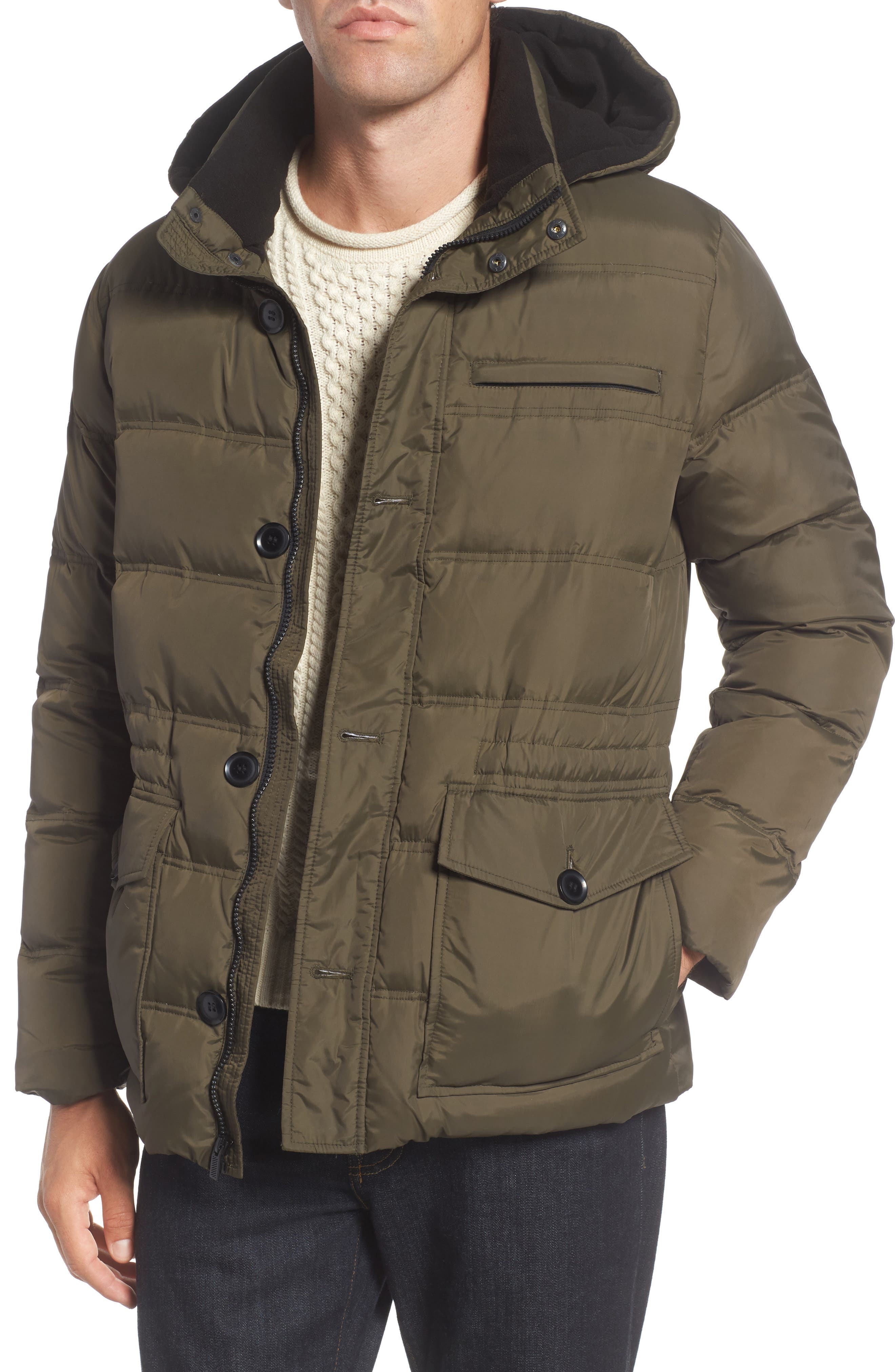 Reaction Kenneth Cole Quilted Parka