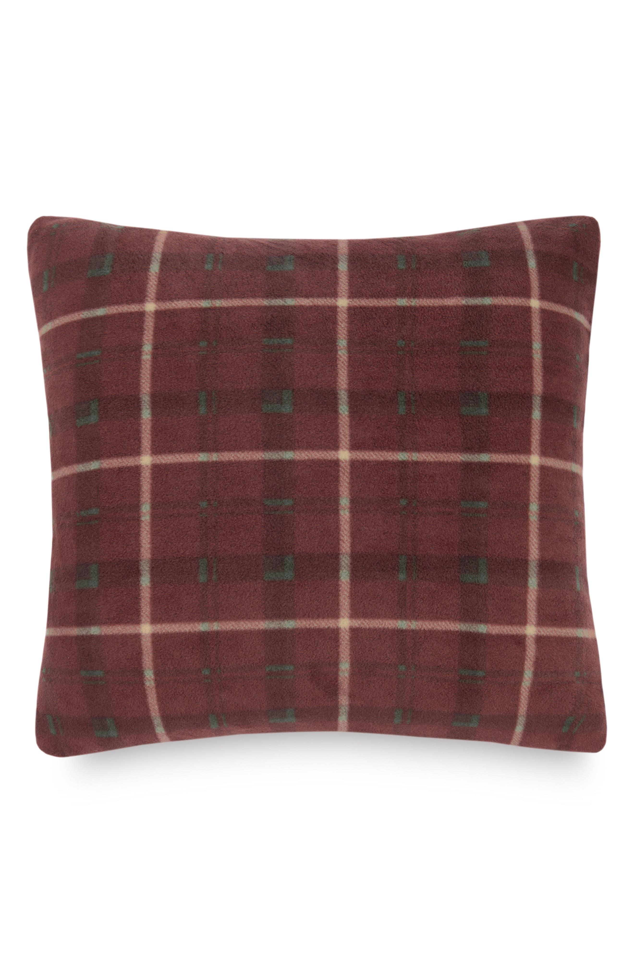 Pendleton Plaid Fleece Pillow