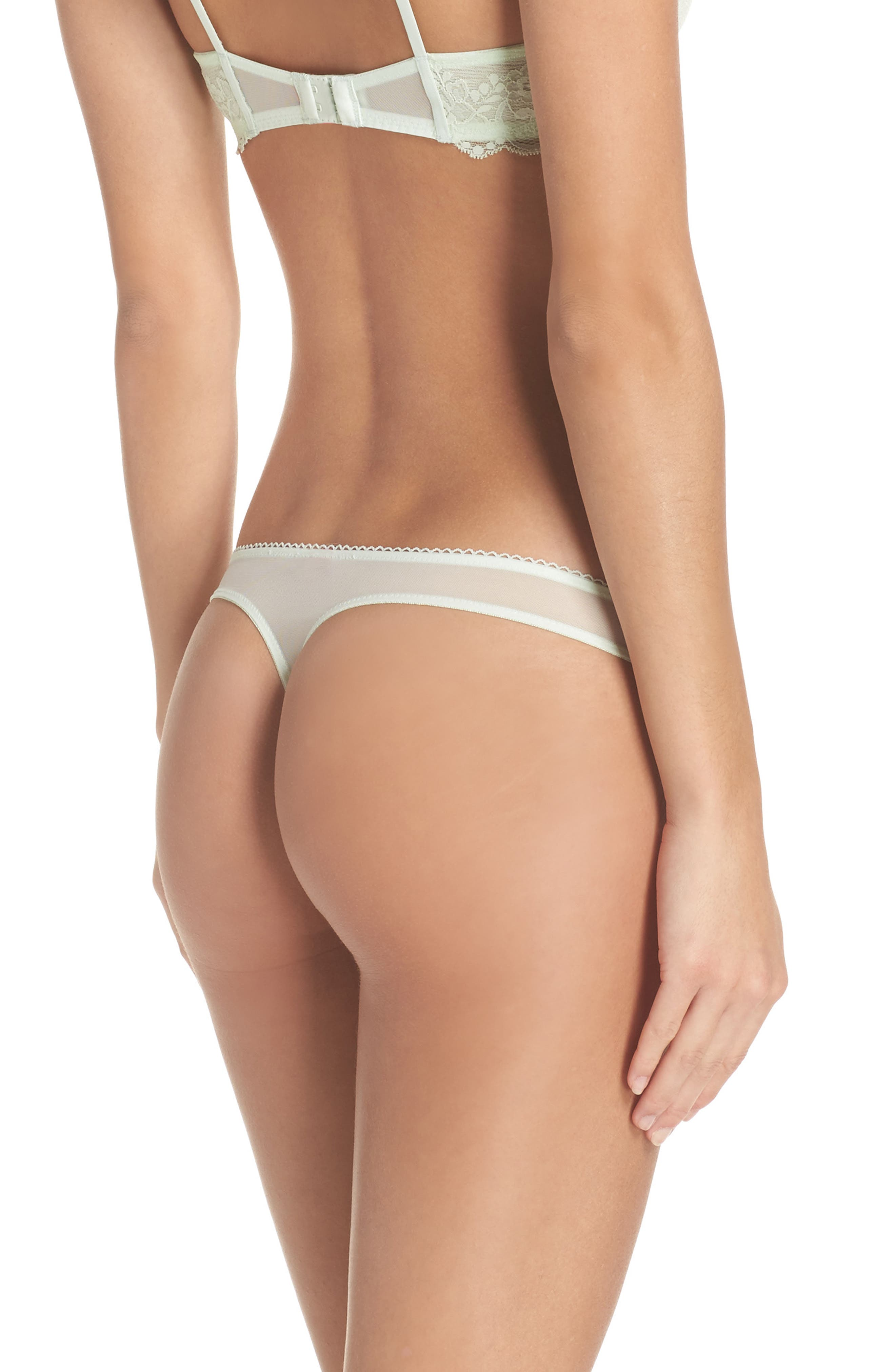 Alternate Image 2  - Betsey Johnson Flirt & Fun Thong (3 for $33)