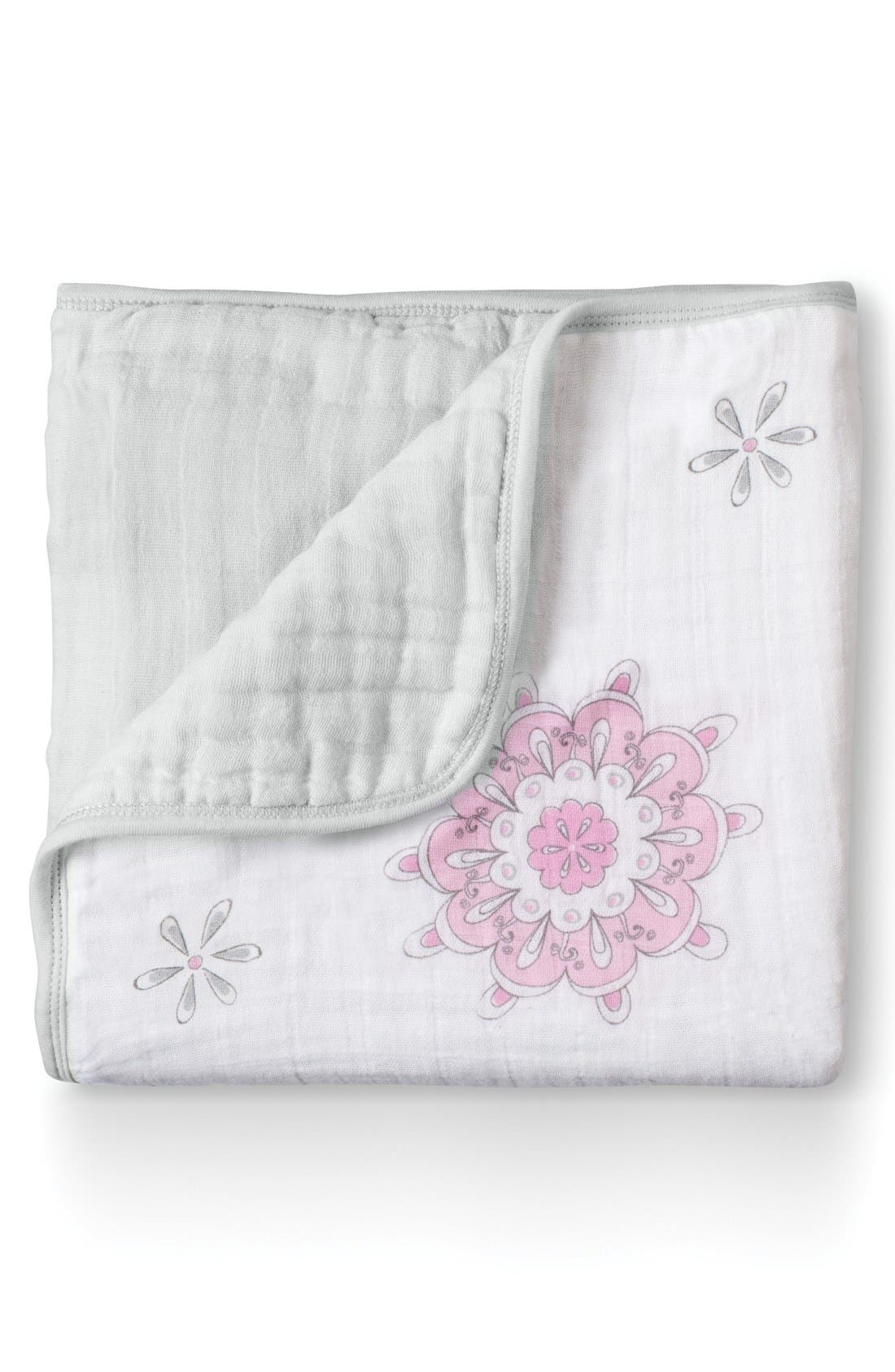 Classic Dream Blanket<sup>™</sup>,                             Main thumbnail 1, color,                             For The Birds- Medallion