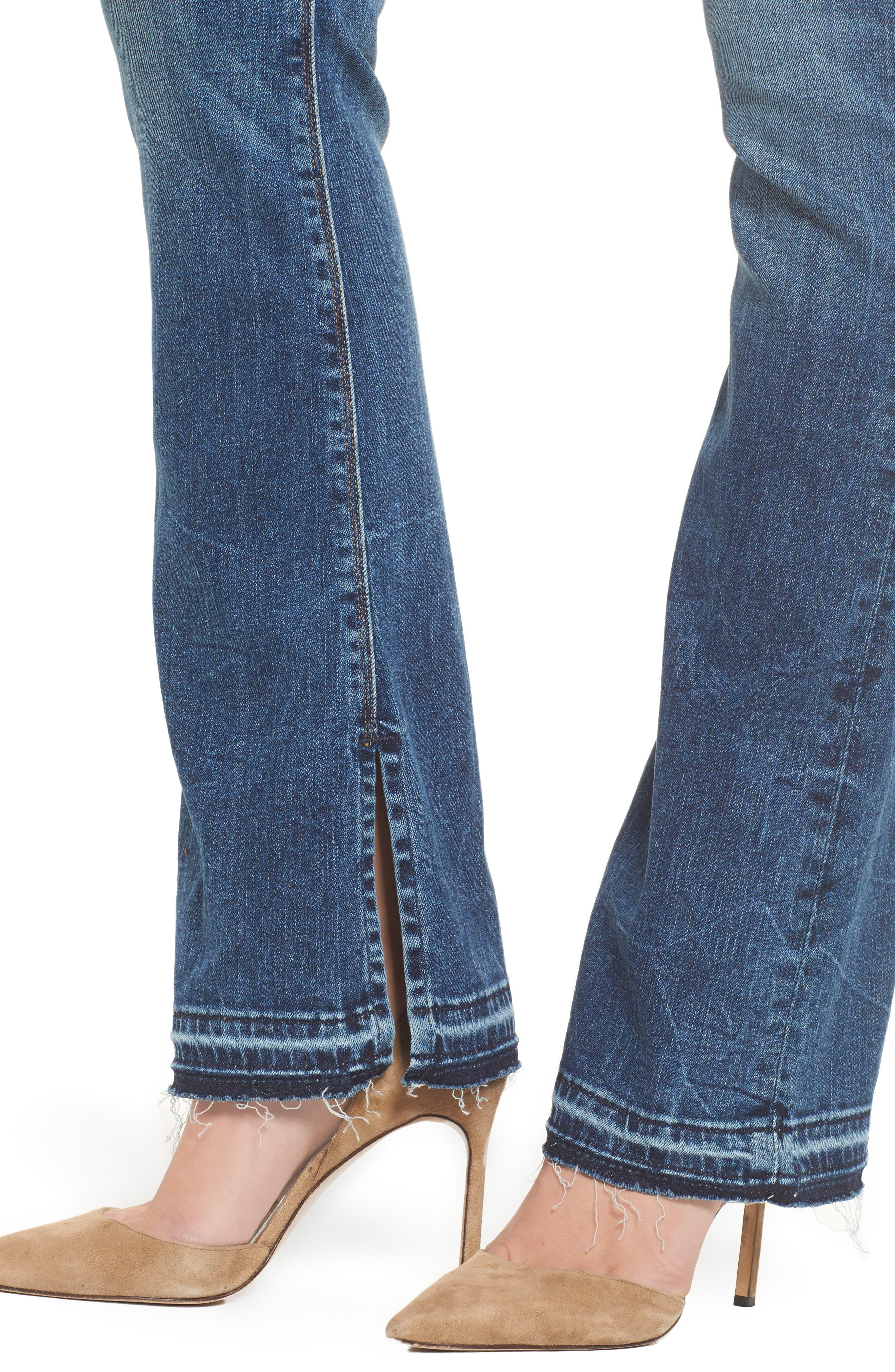Alternate Image 4  - Hudson Jeans Heartbreaker High Waist Bootcut Jeans (Split Second)