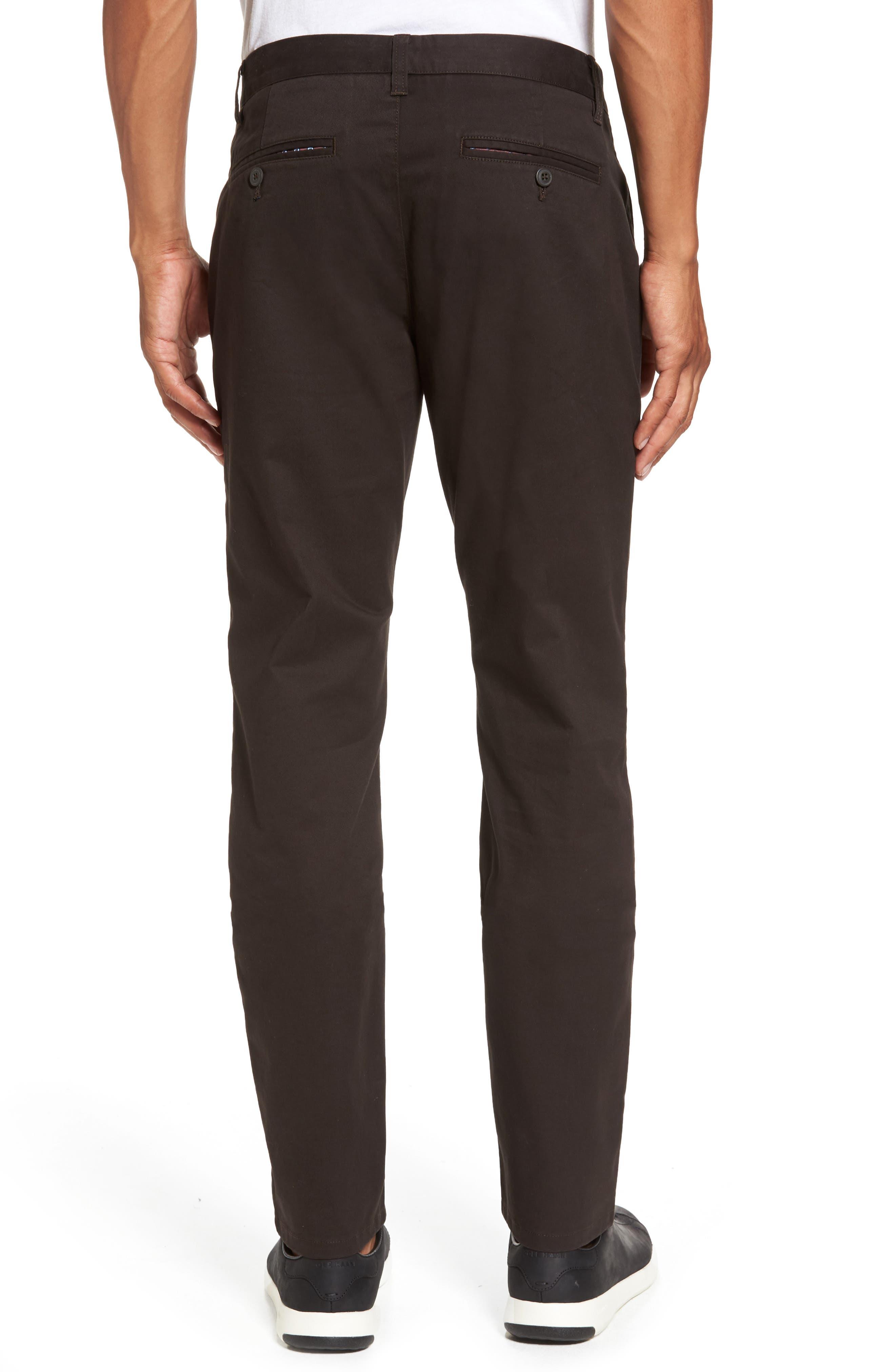 Tellis Modern Slim Twill Pants,                             Alternate thumbnail 2, color,                             2 Years Field Stone