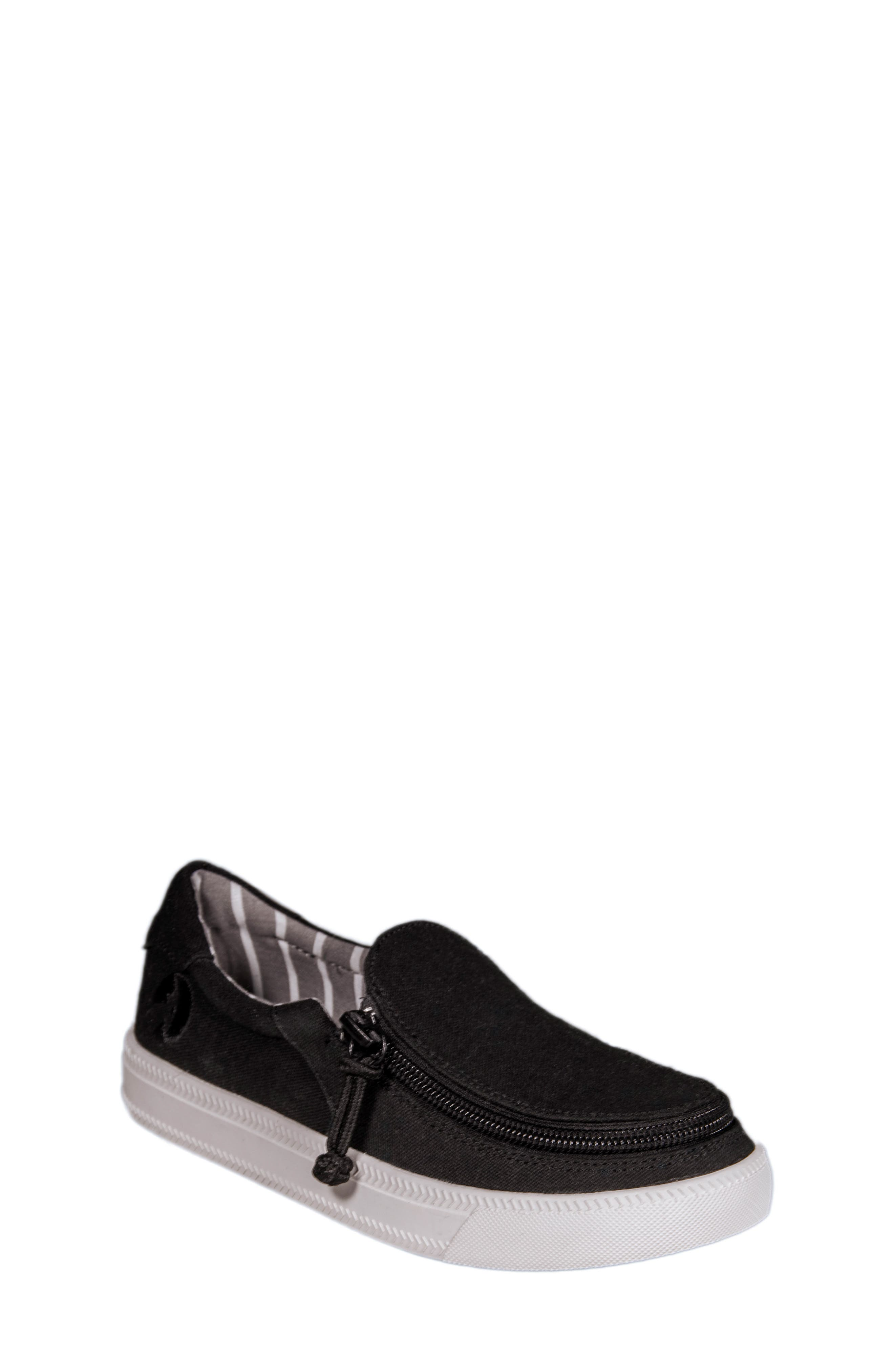 BILLY Footwear Zip Around Low Top Sneaker (Toddler, Little Kid & Big Kid)