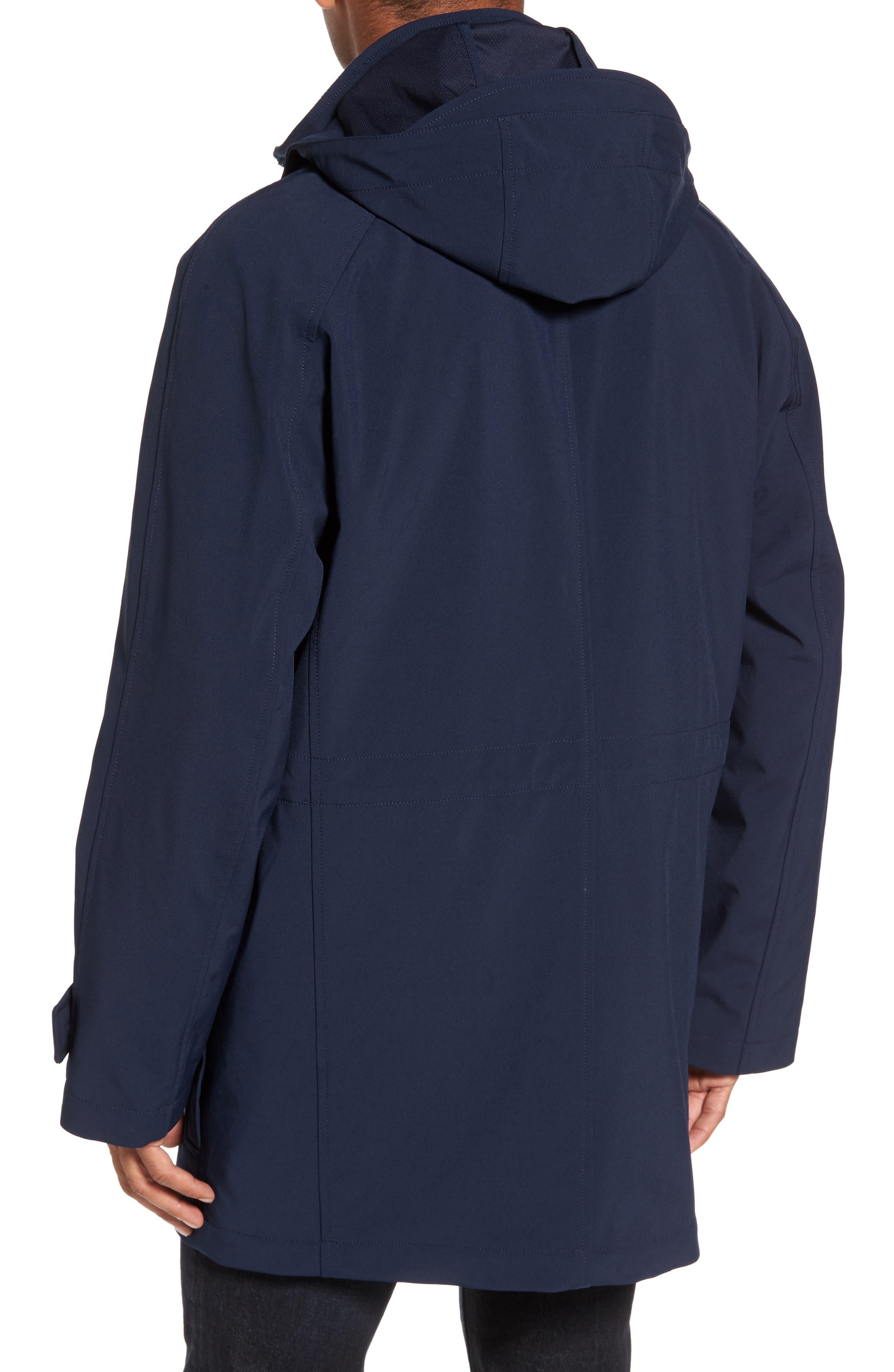 Technical Longline Jacket,                             Alternate thumbnail 2, color,                             Navy