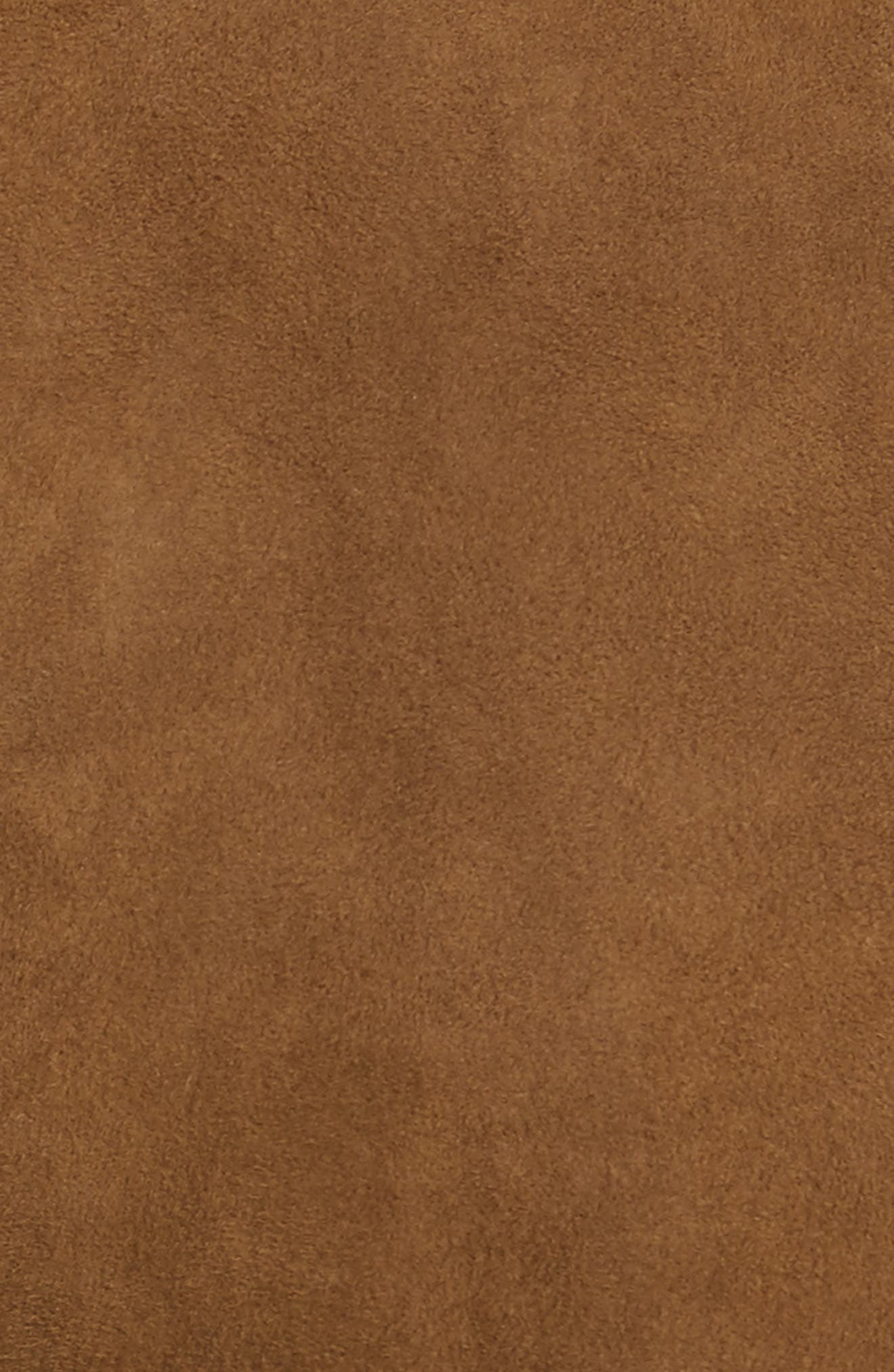 Brooklyn Suede Pants,                             Alternate thumbnail 3, color,                             Sequoia