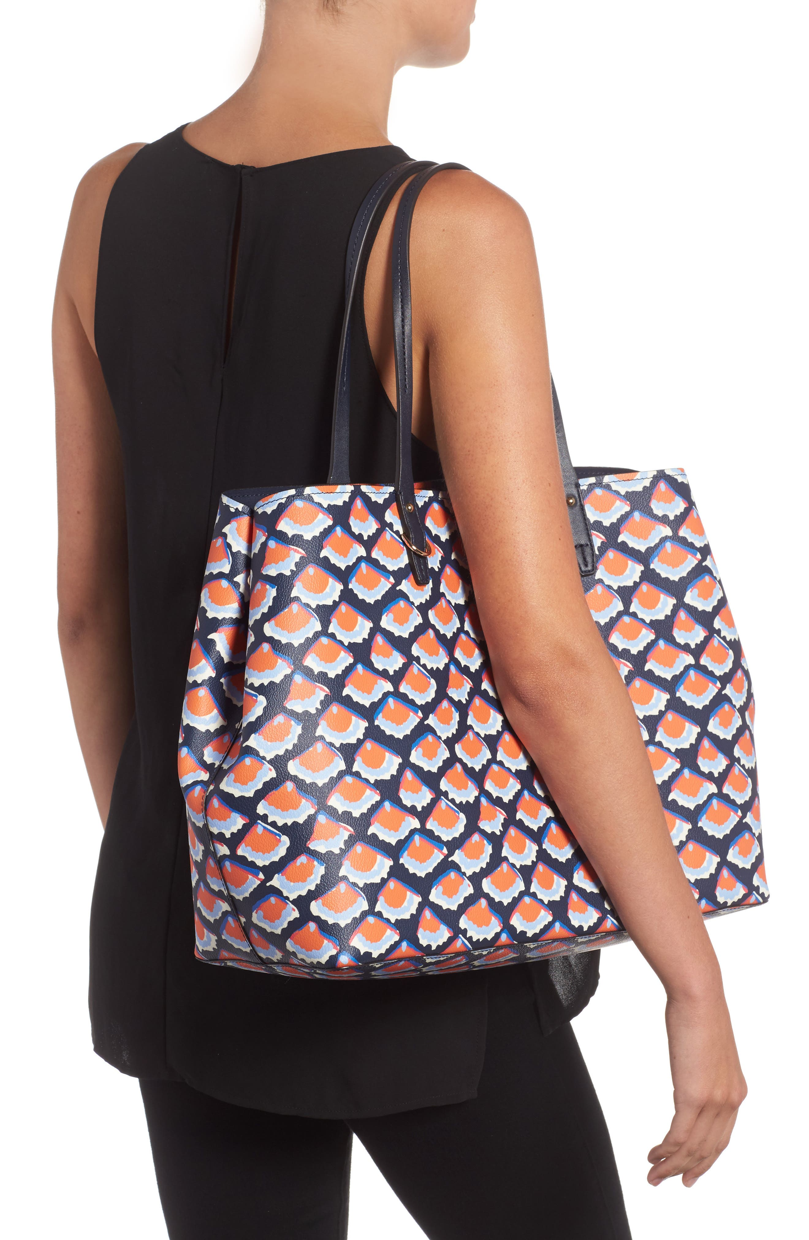 Alternate Image 2  - Tory Burch Kerrington Coated Canvas Tote