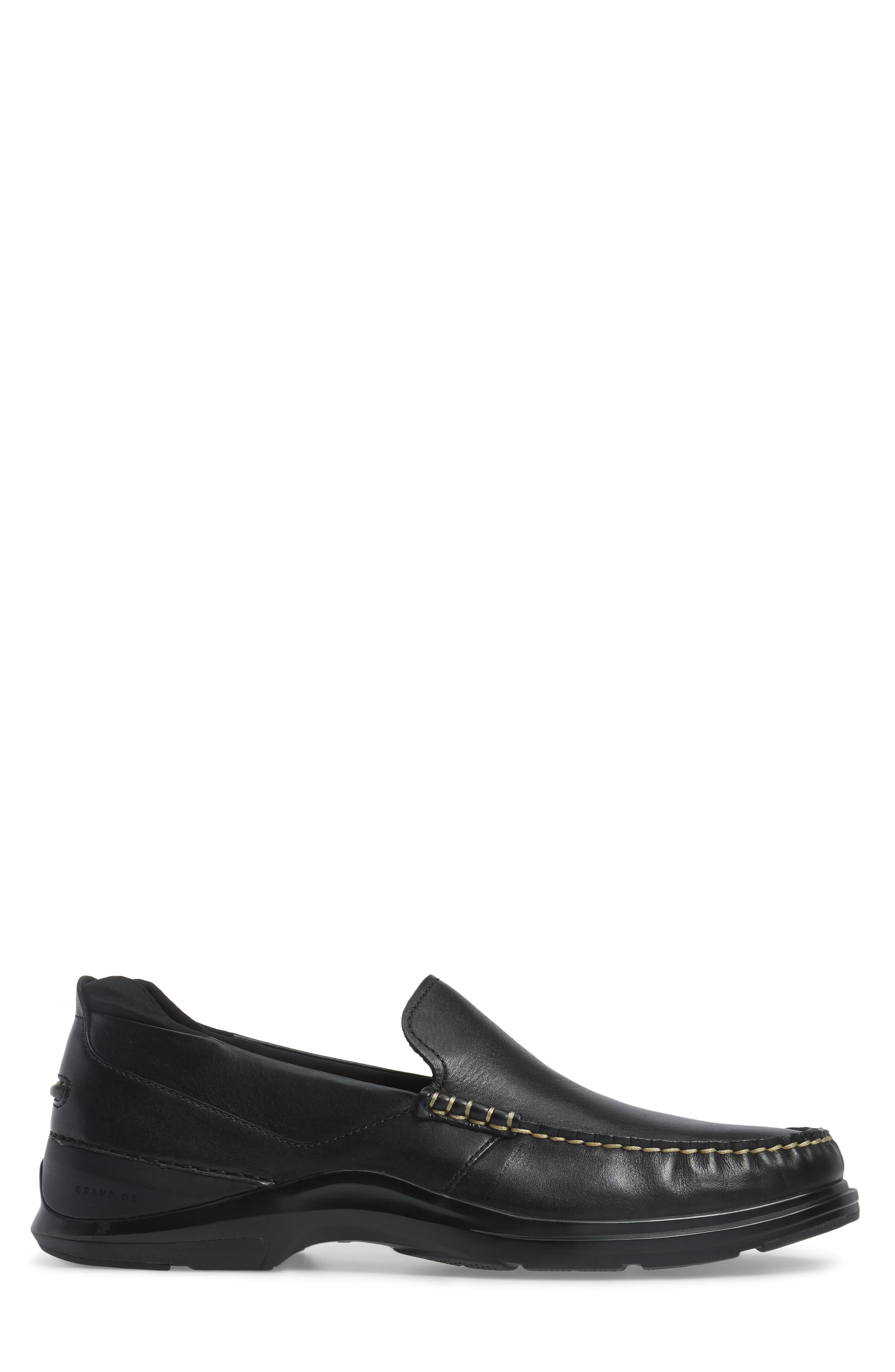 Bancroft Loafer,                             Alternate thumbnail 3, color,                             Black