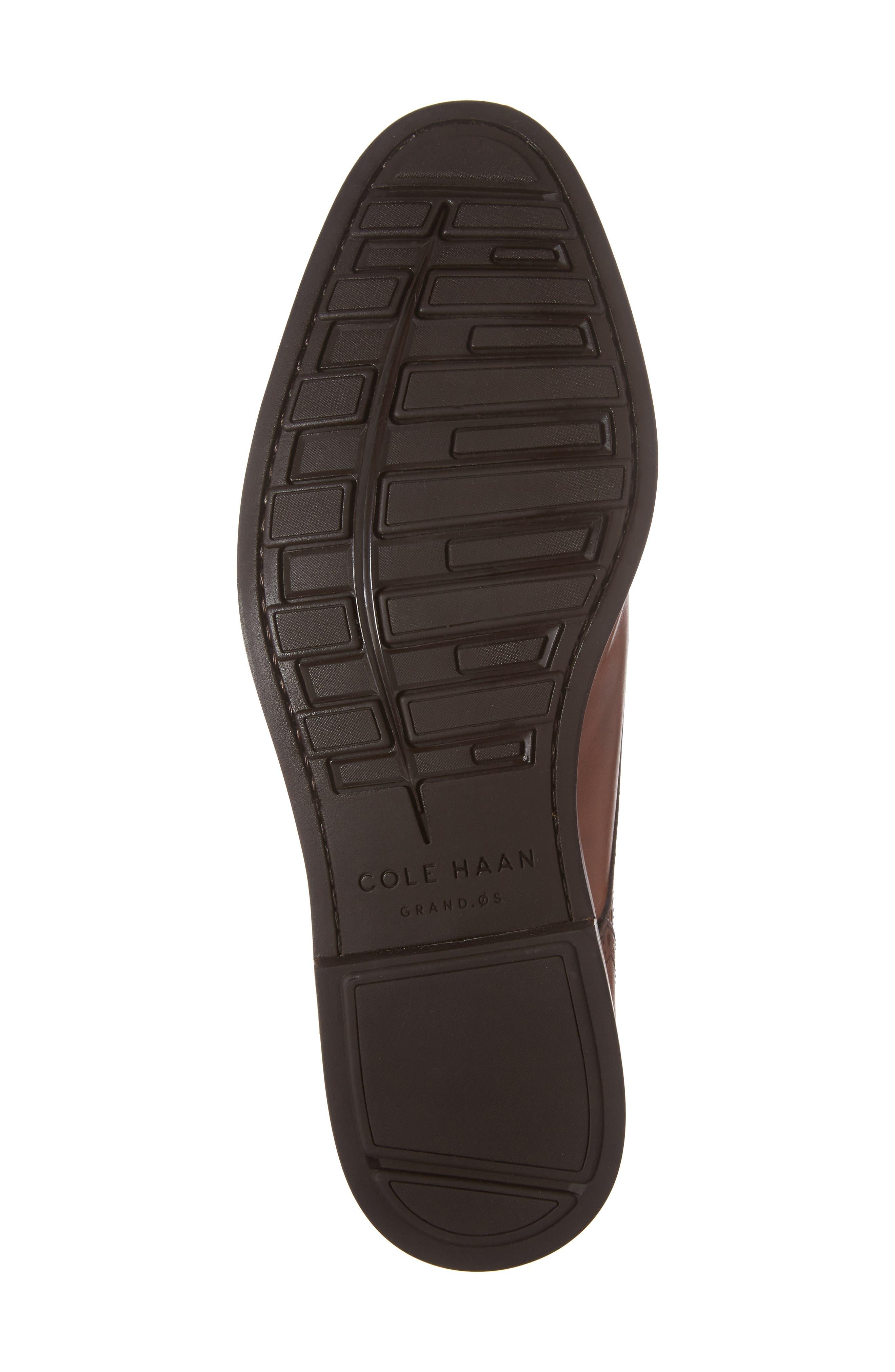 Hamilton Double Monk Strap Shoe,                             Alternate thumbnail 6, color,                             British Tan Leather