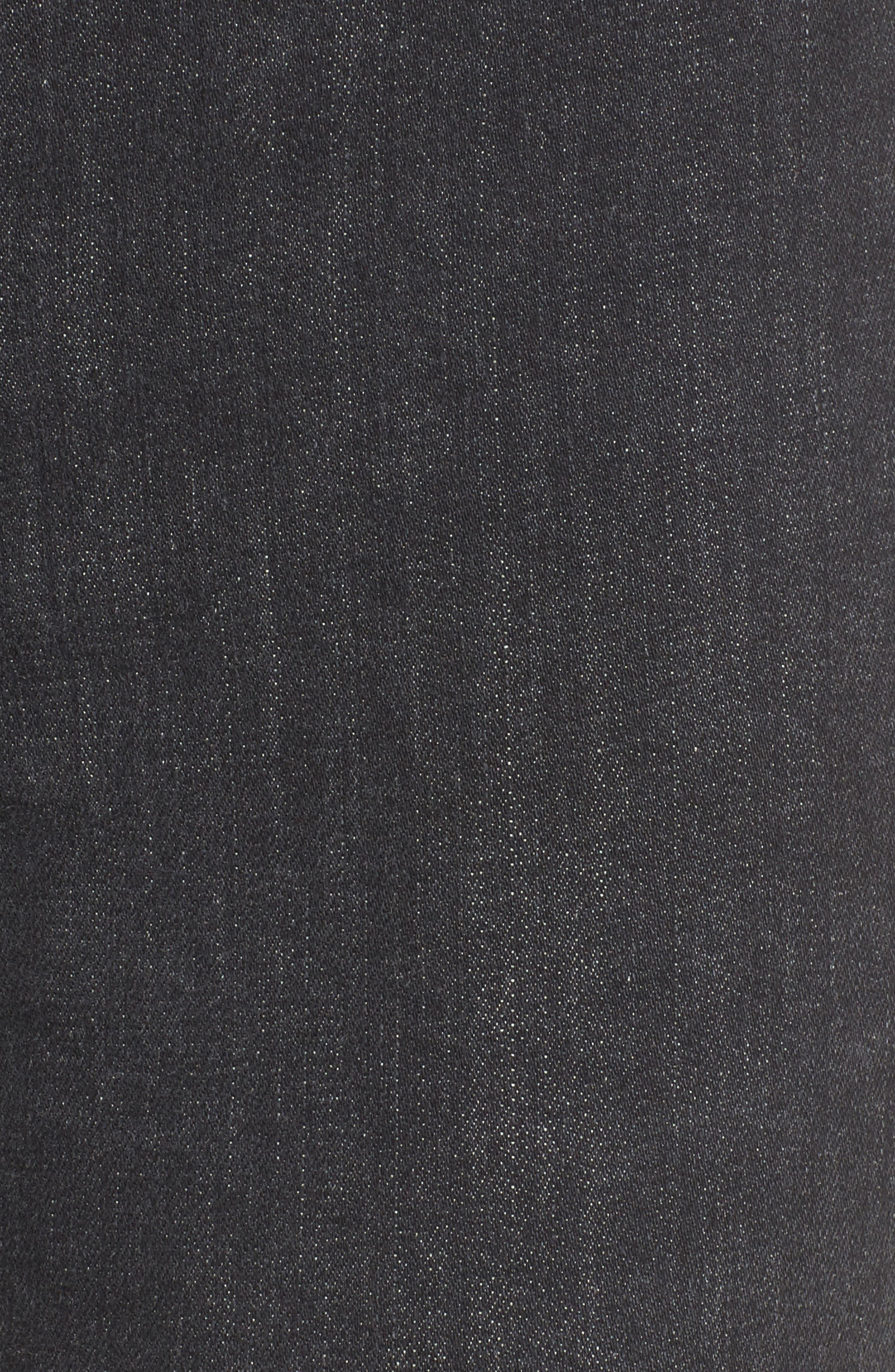 Alternate Image 5  - Hudson Jeans Bullocks High Waist Lace-Up Skinny Jeans (Disarm)