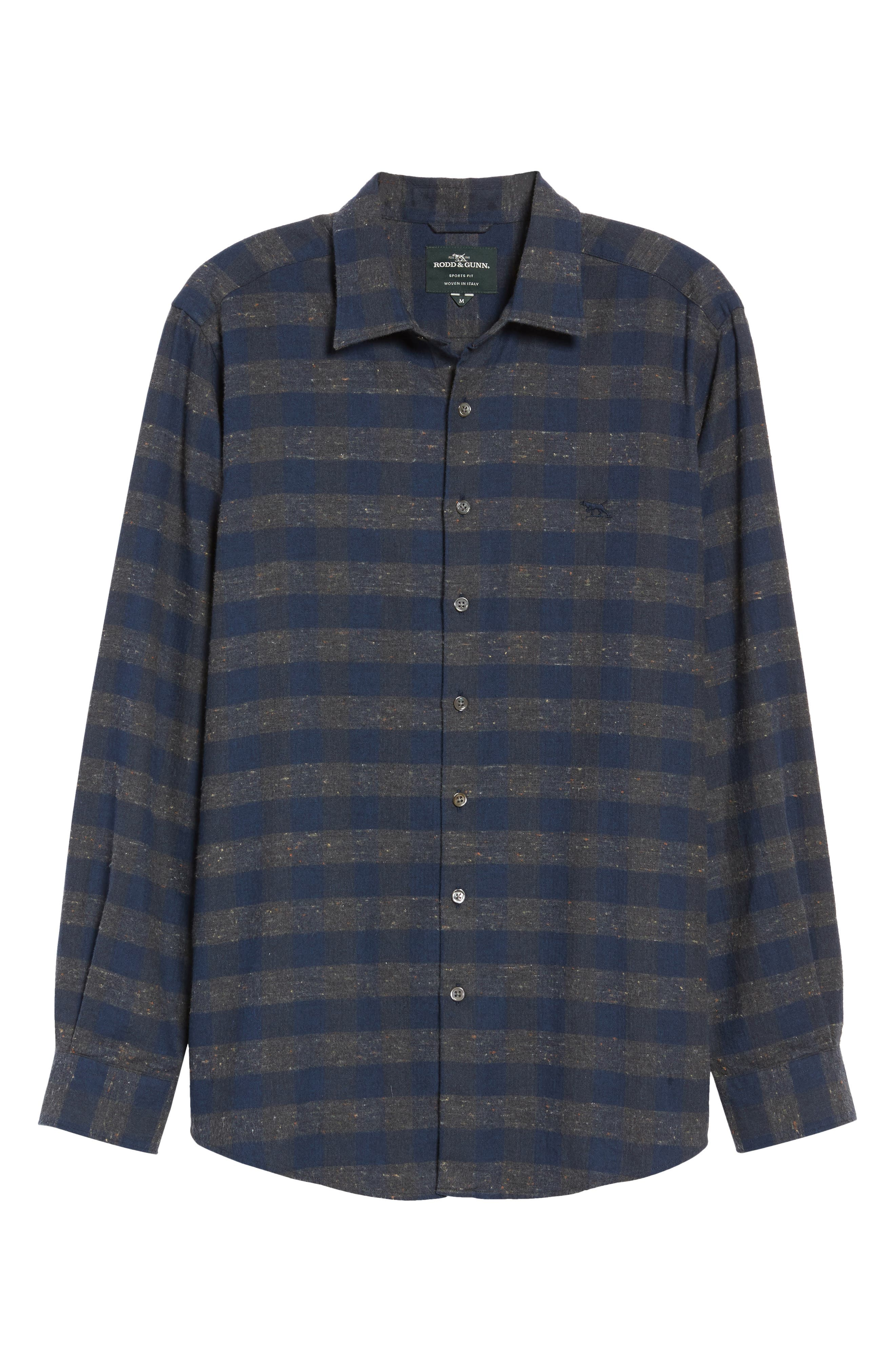 Alternate Image 6  - Rodd & Gunn Santa Rosa Sports Fit Check Sport Shirt