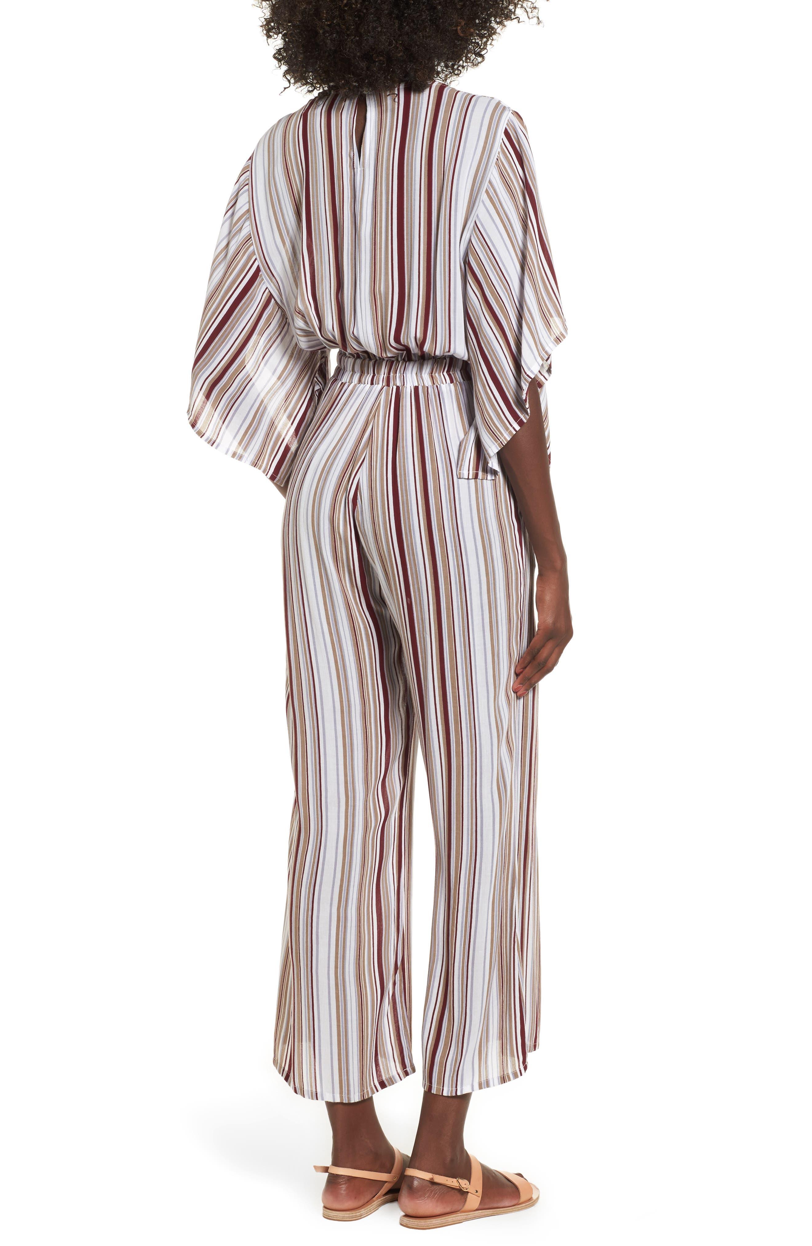 Alternate Image 2  - FAITHFULL THE BRAND Tilos Stripe Knotted Jumpsuit