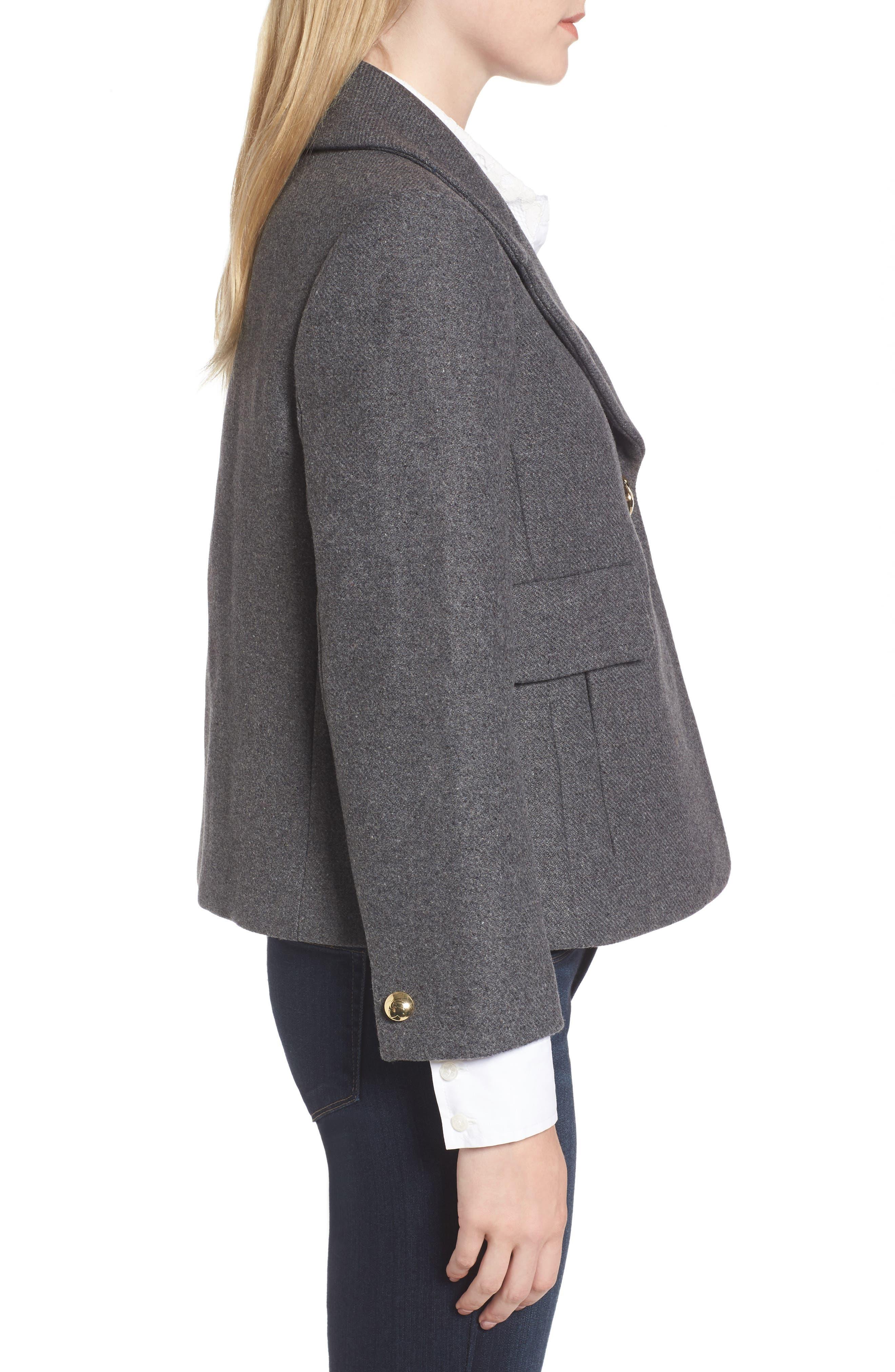 Alternate Image 3  - Draper James Campbell Short Coat