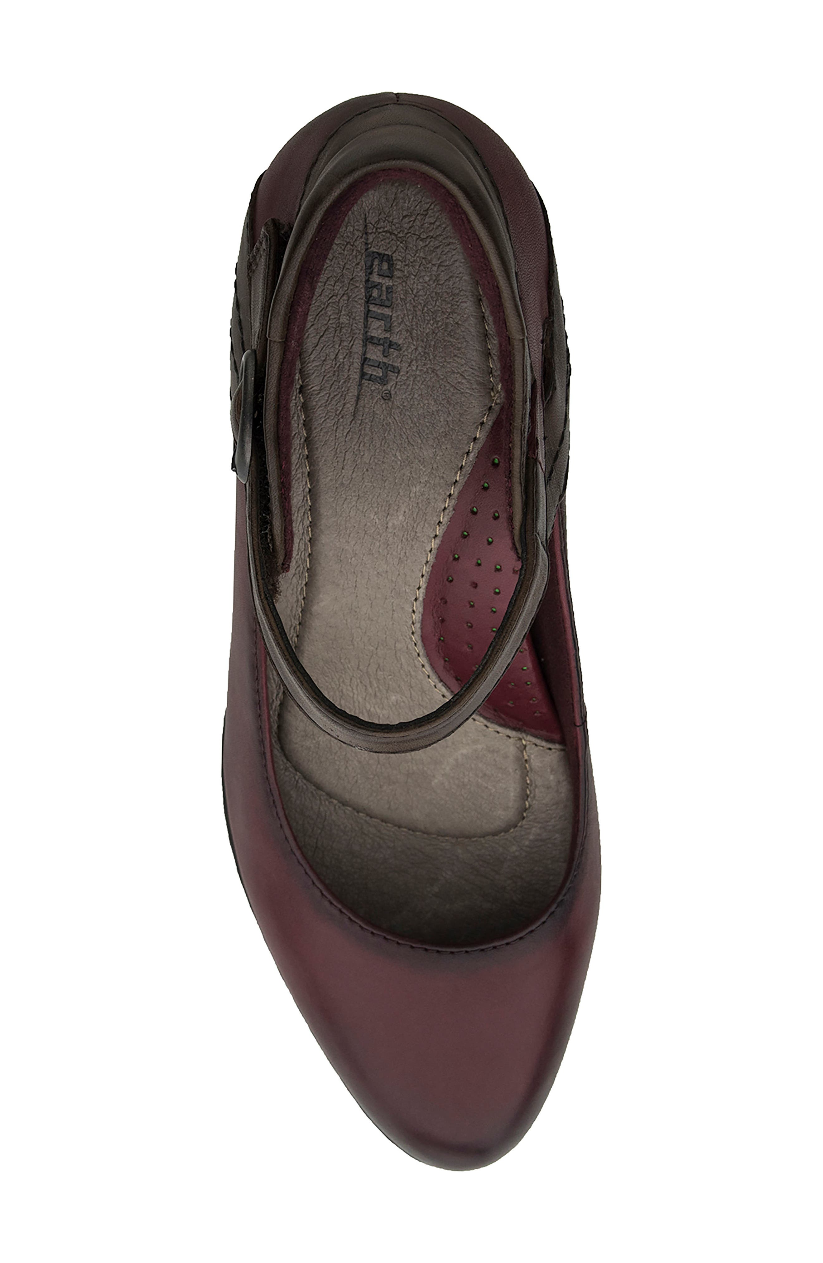Alternate Image 5  - Earth® Garnet Ankle Strap Pump (Women)