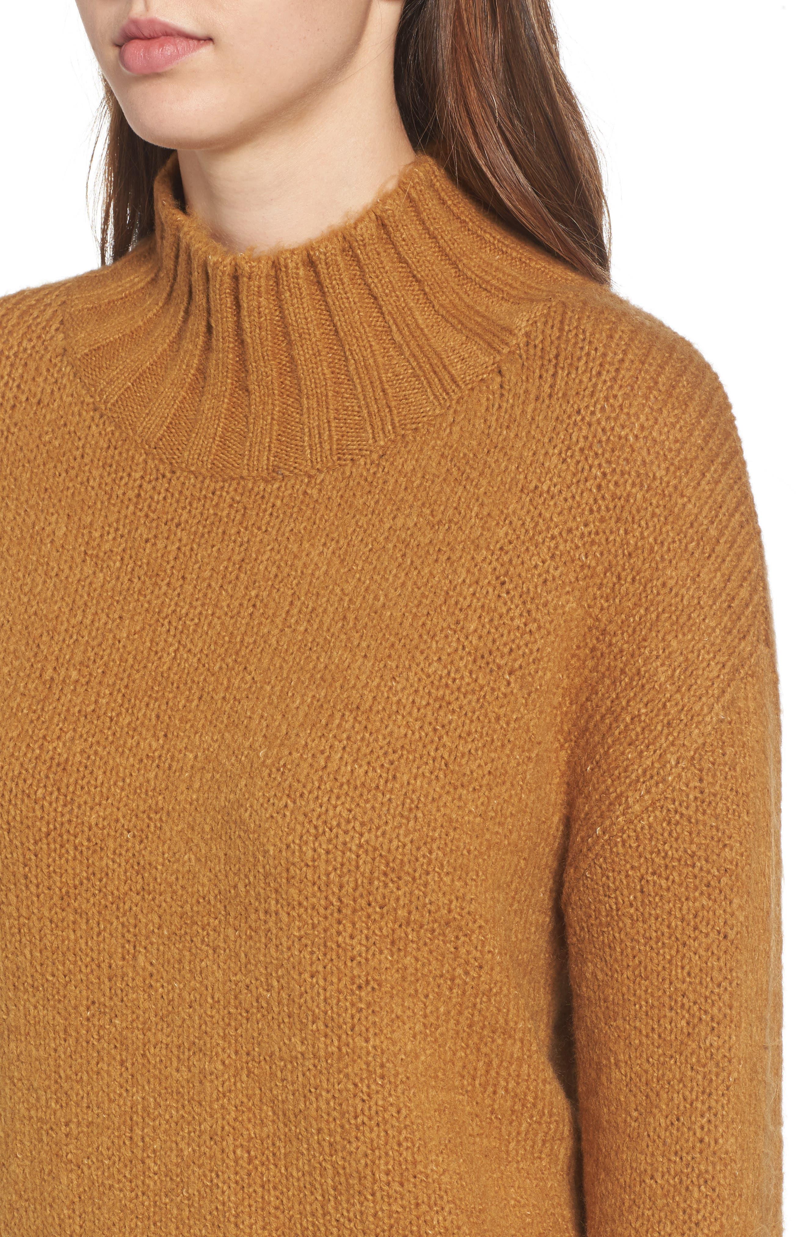 Alternate Image 4  - BP. Cozy Mock Neck Sweater