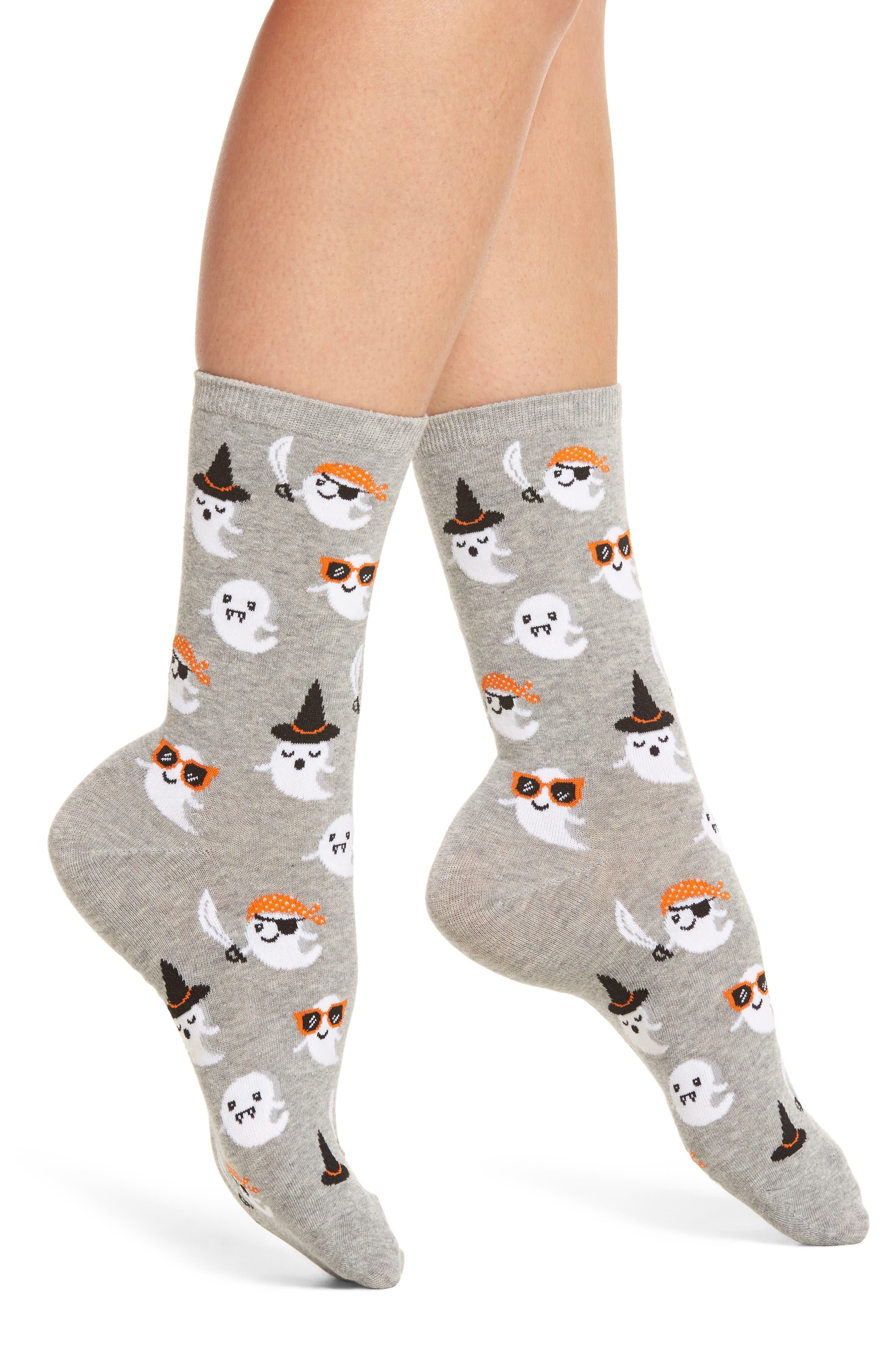 Hot Sox Cute Ghost Socks (3 for $15)