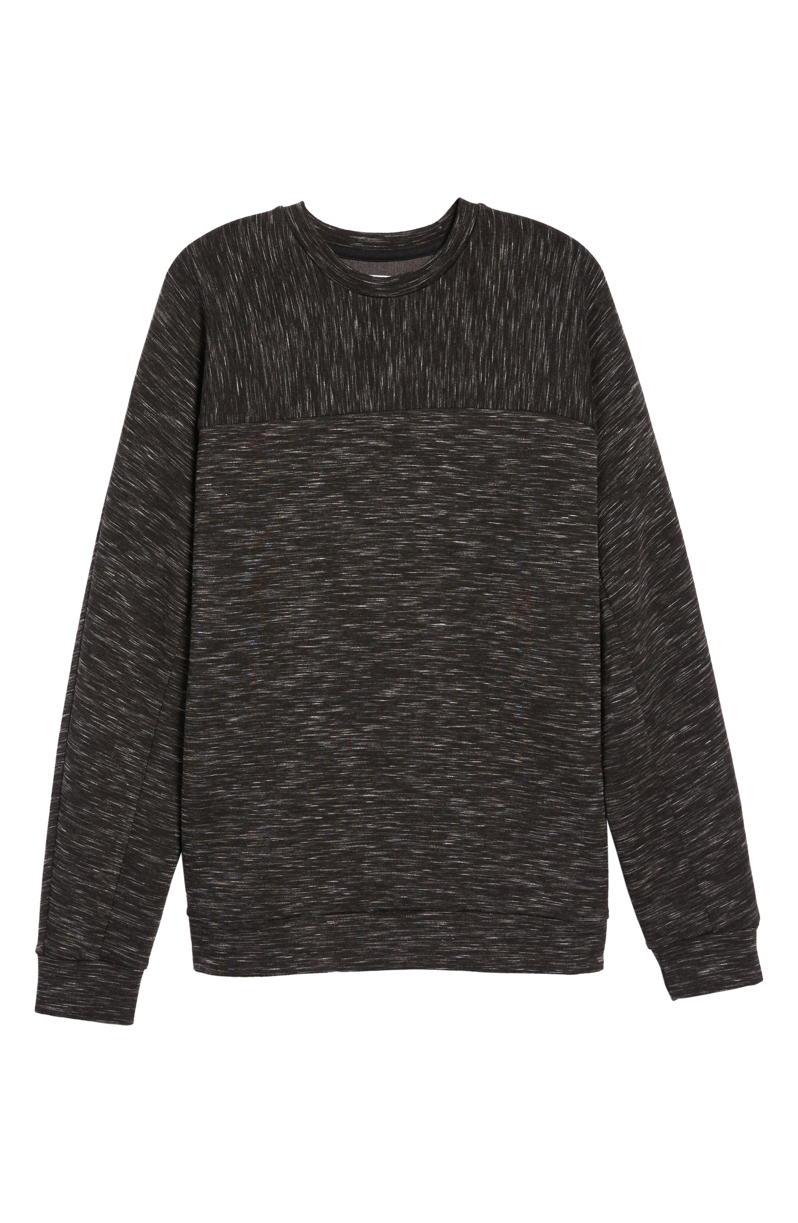 Alternate Image 5  - Calibrate Side Zip Crewneck Sweatshirt