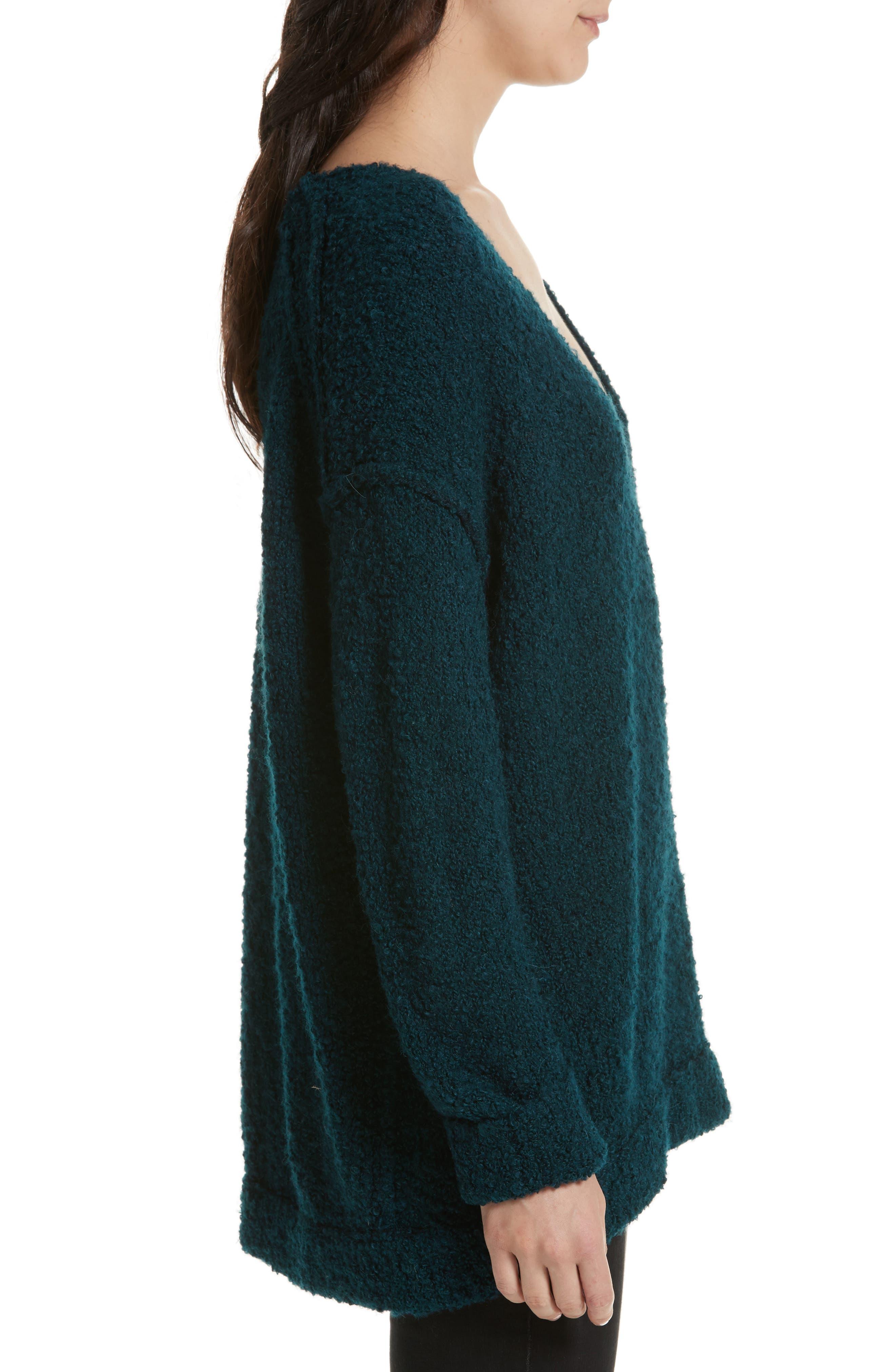 Alternate Image 3  - Free People Lofty V-Neck Sweater
