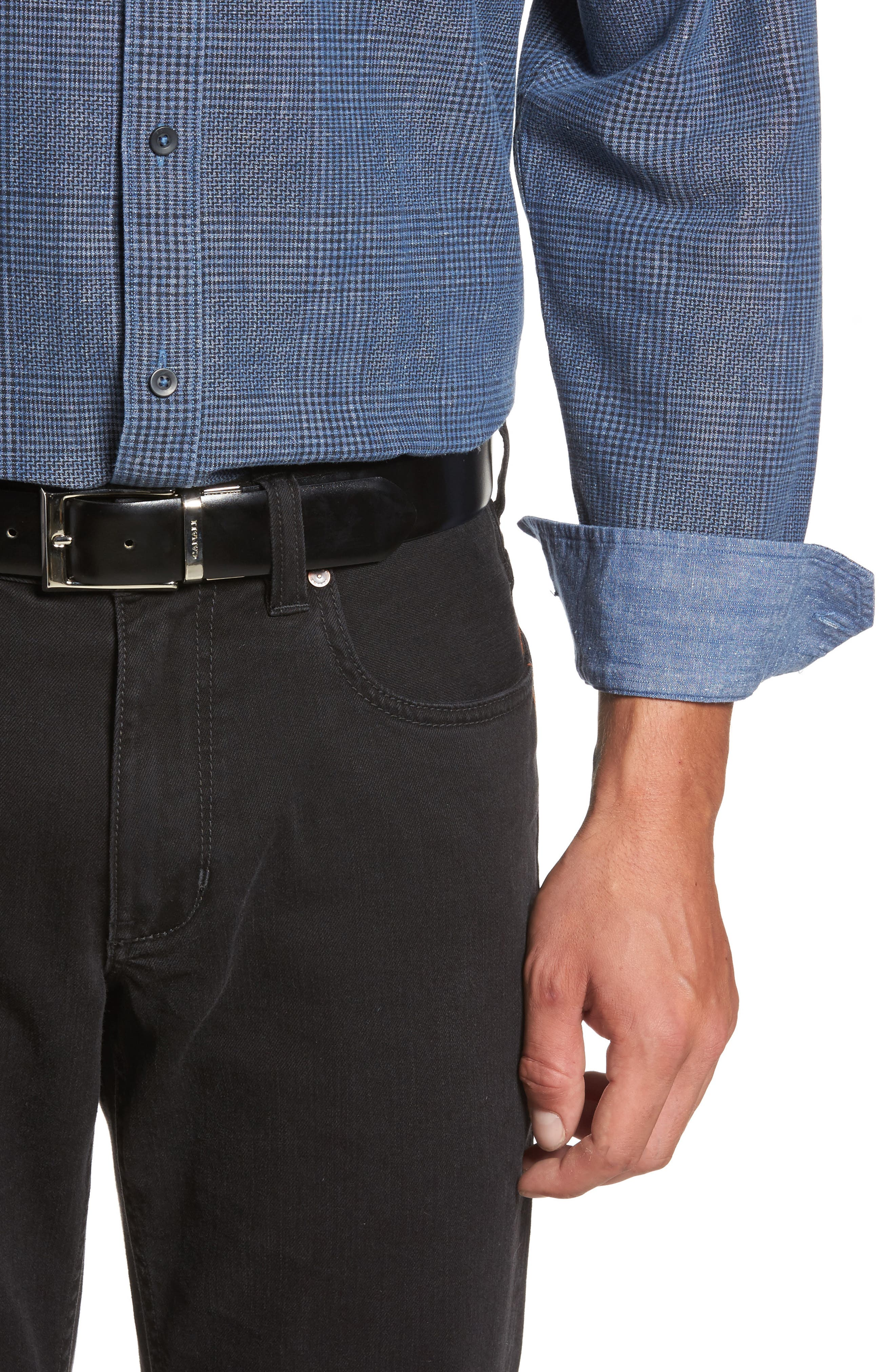 Alternate Image 4  - Tommy Bahama Almeria Standard Fit Plaid Sport Shirt