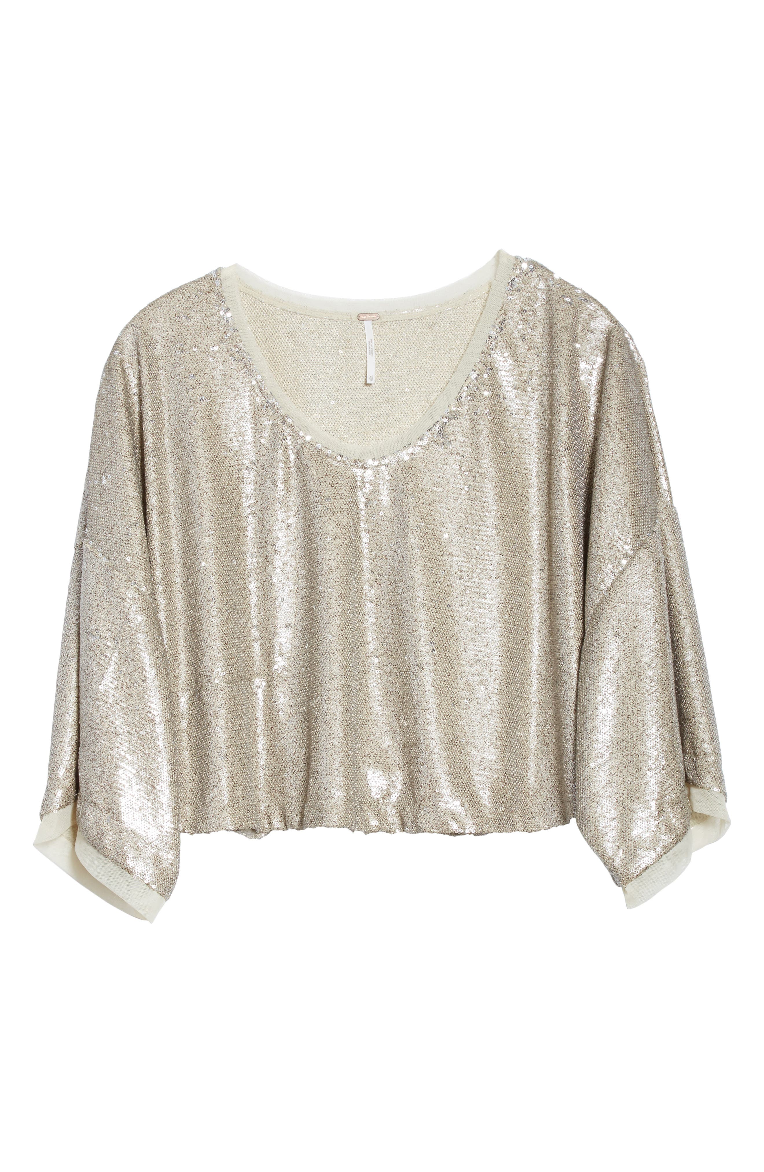 Alternate Image 6  - Free People Champagne Dreams Top