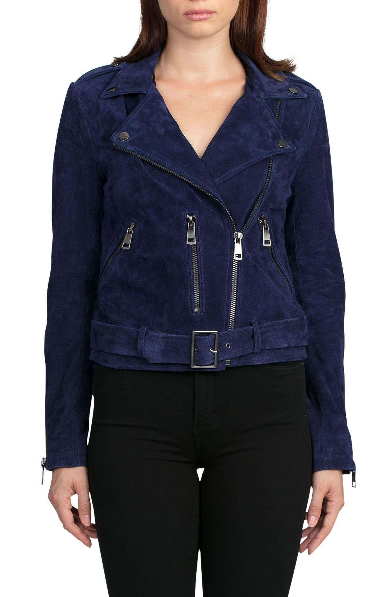 Alternate Image 4  - Bagatelle Suede Jacket