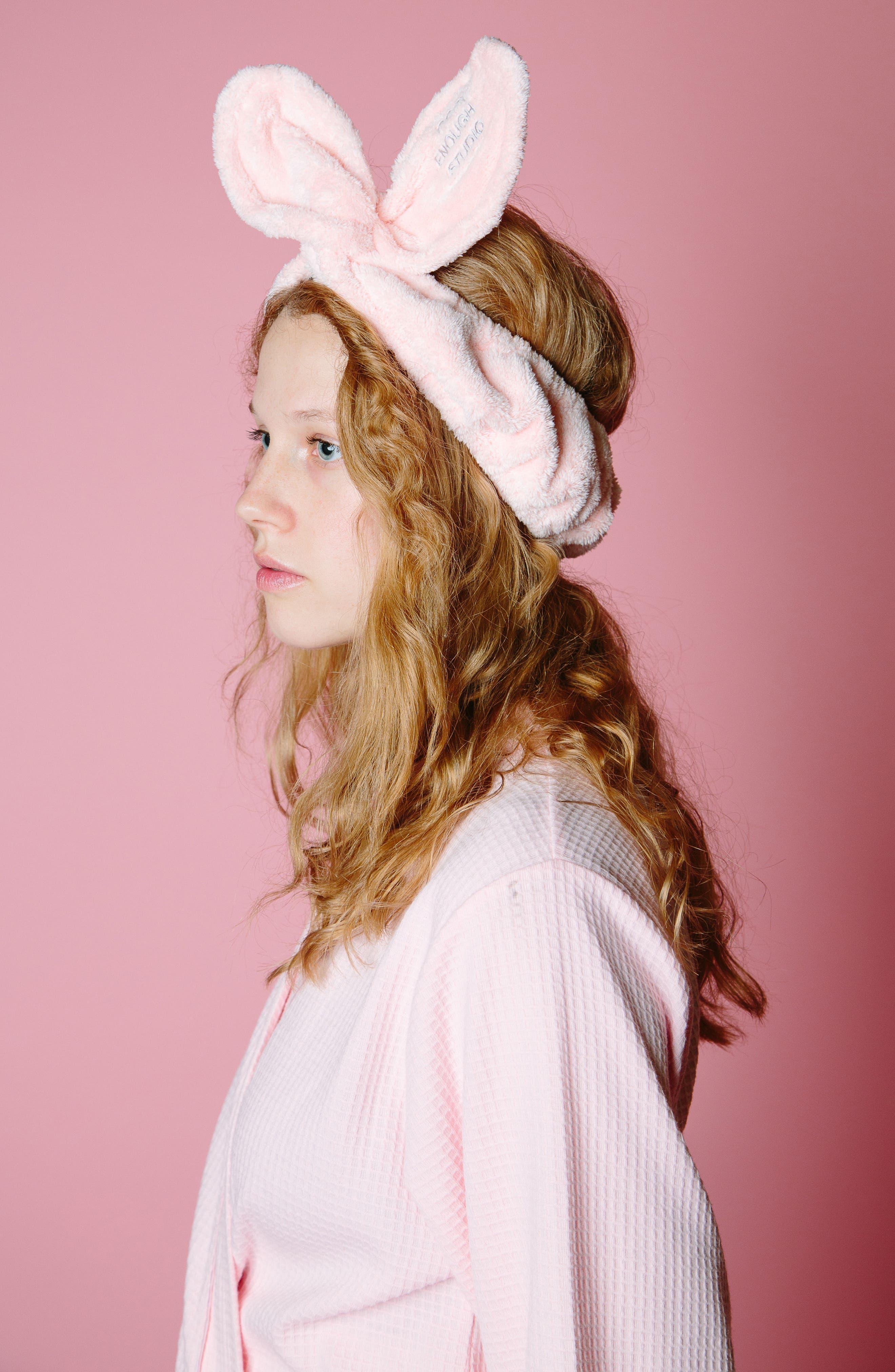 The Band Headband,                             Alternate thumbnail 2, color,                             Pink
