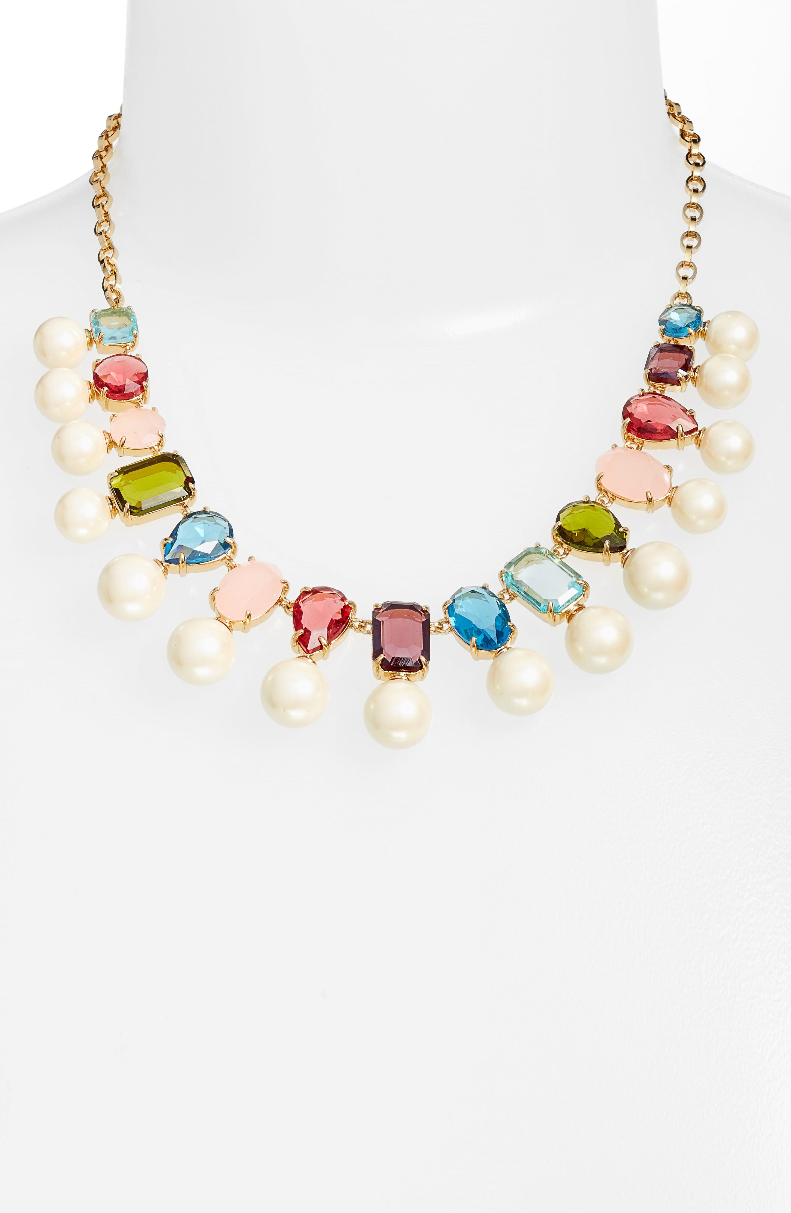 Alternate Image 2  - kate spade new york a new hue collar necklace